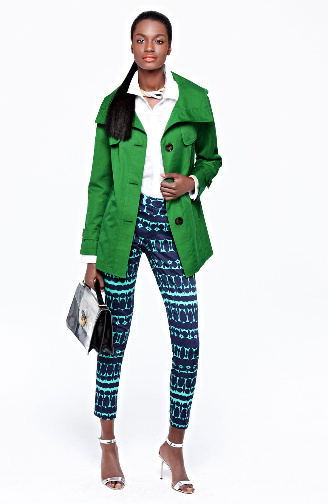 Alternate Image 4  - Ellen Tracy Stand Collar A-Line Jacket (Nordstrom Exclusive)