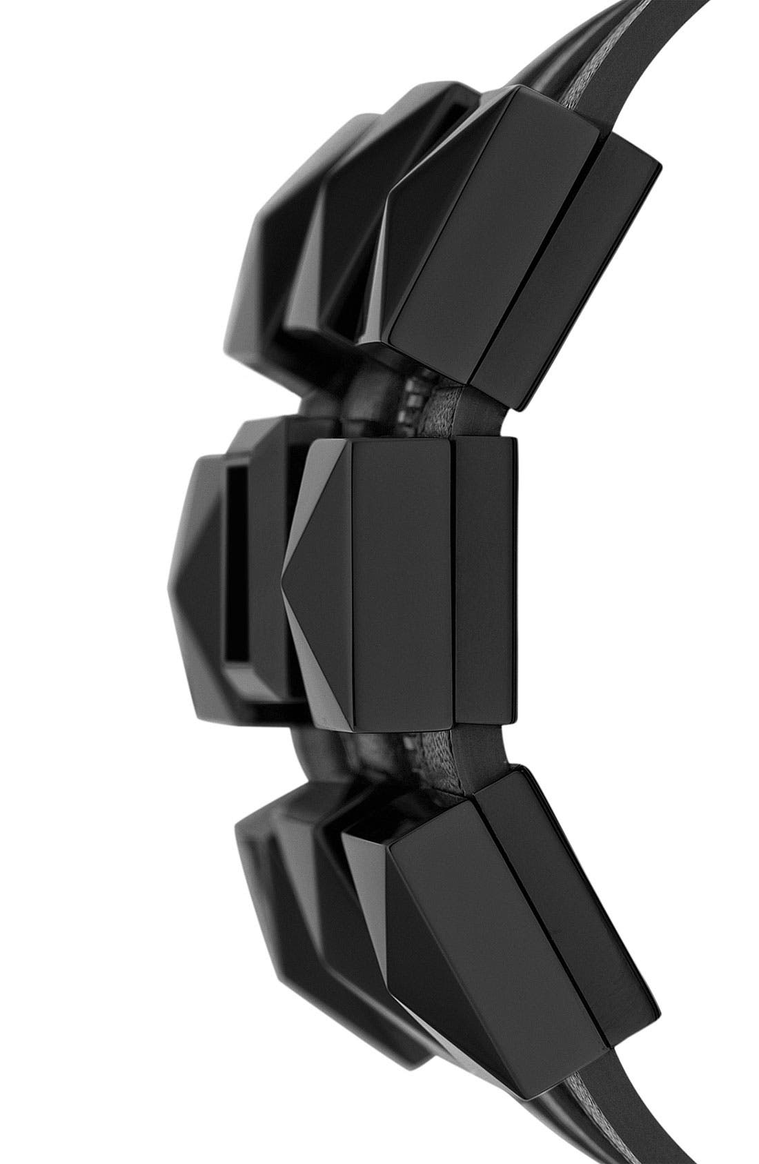Alternate Image 2  - KARL LAGERFELD Triple Strap Cuff Watch