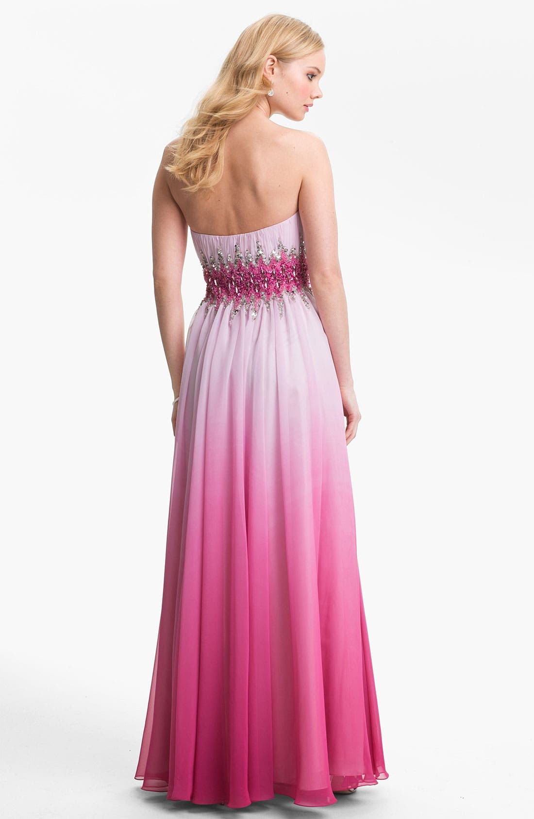 Alternate Image 2  - Sean Collection Ball Gown & Accessories