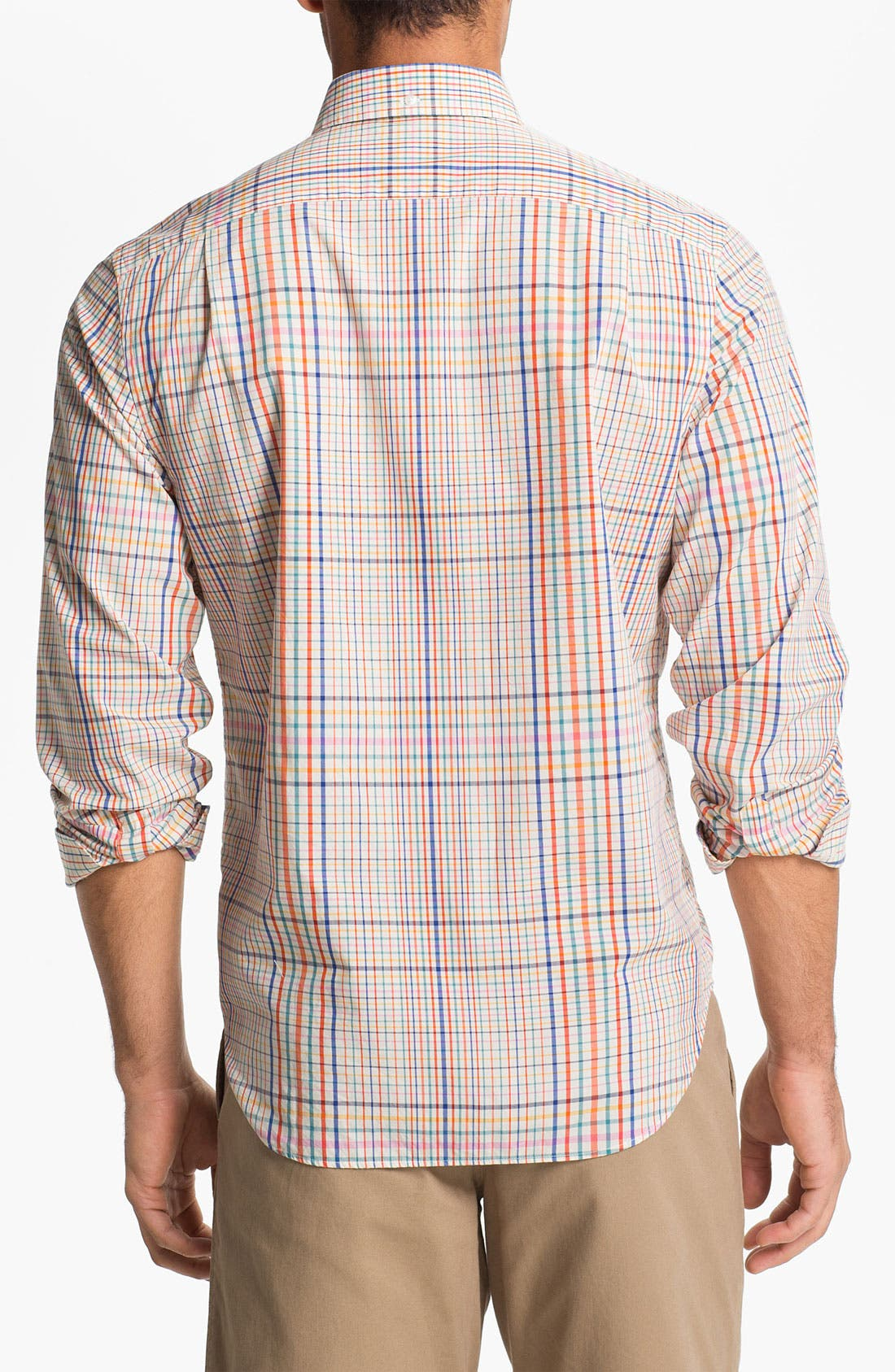 Alternate Image 2  - Bonobos Tattersall Standard Fit Sport Shirt