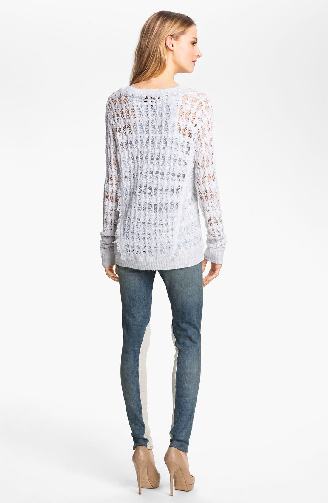 Alternate Image 4  - rag & bone 'Vicky' Pullover
