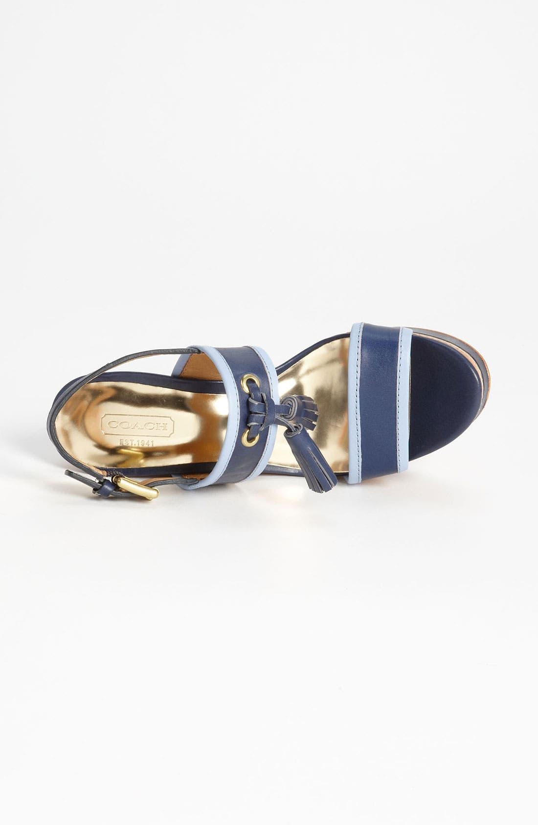 Alternate Image 3  - COACH 'Guileietta' Wedge Sandal