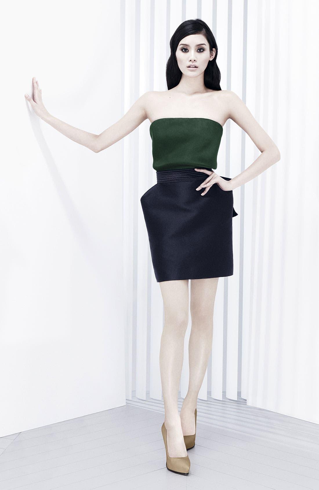 Alternate Image 6  - Lanvin Bow Detail Techno Skirt