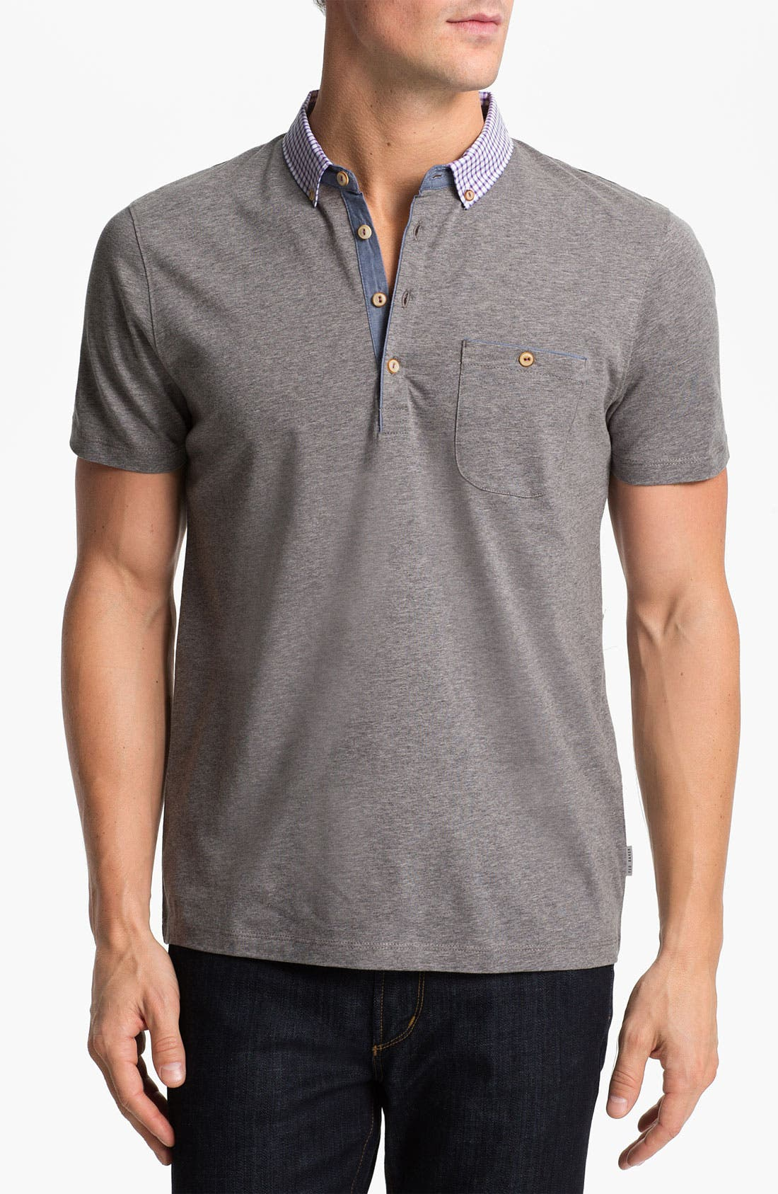 Alternate Image 1 Selected - Ted Baker London 'Gulsbak' Polo