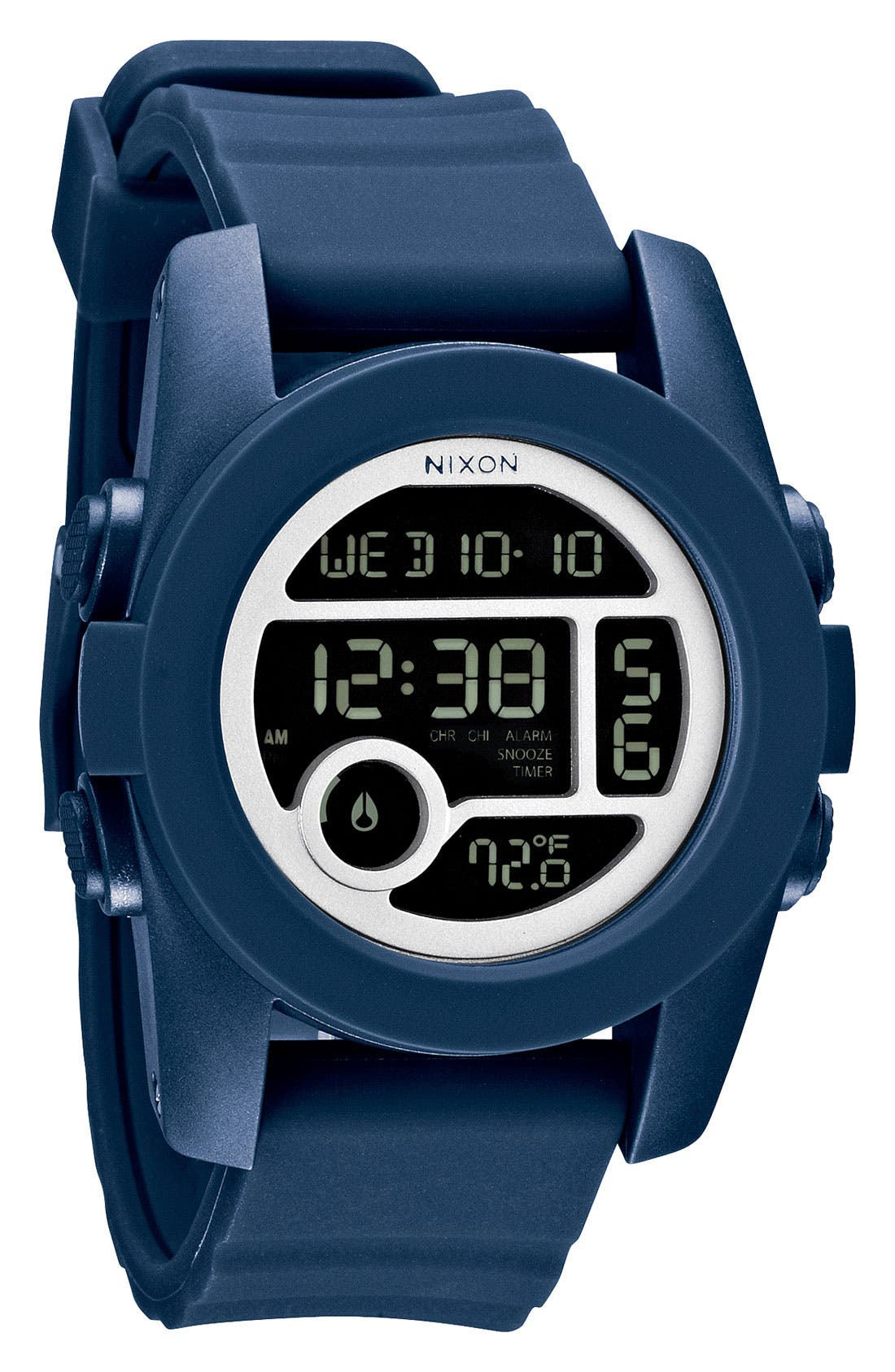 Alternate Image 1 Selected - Nixon 'The Unit 40' Round Digital Watch, 40mm