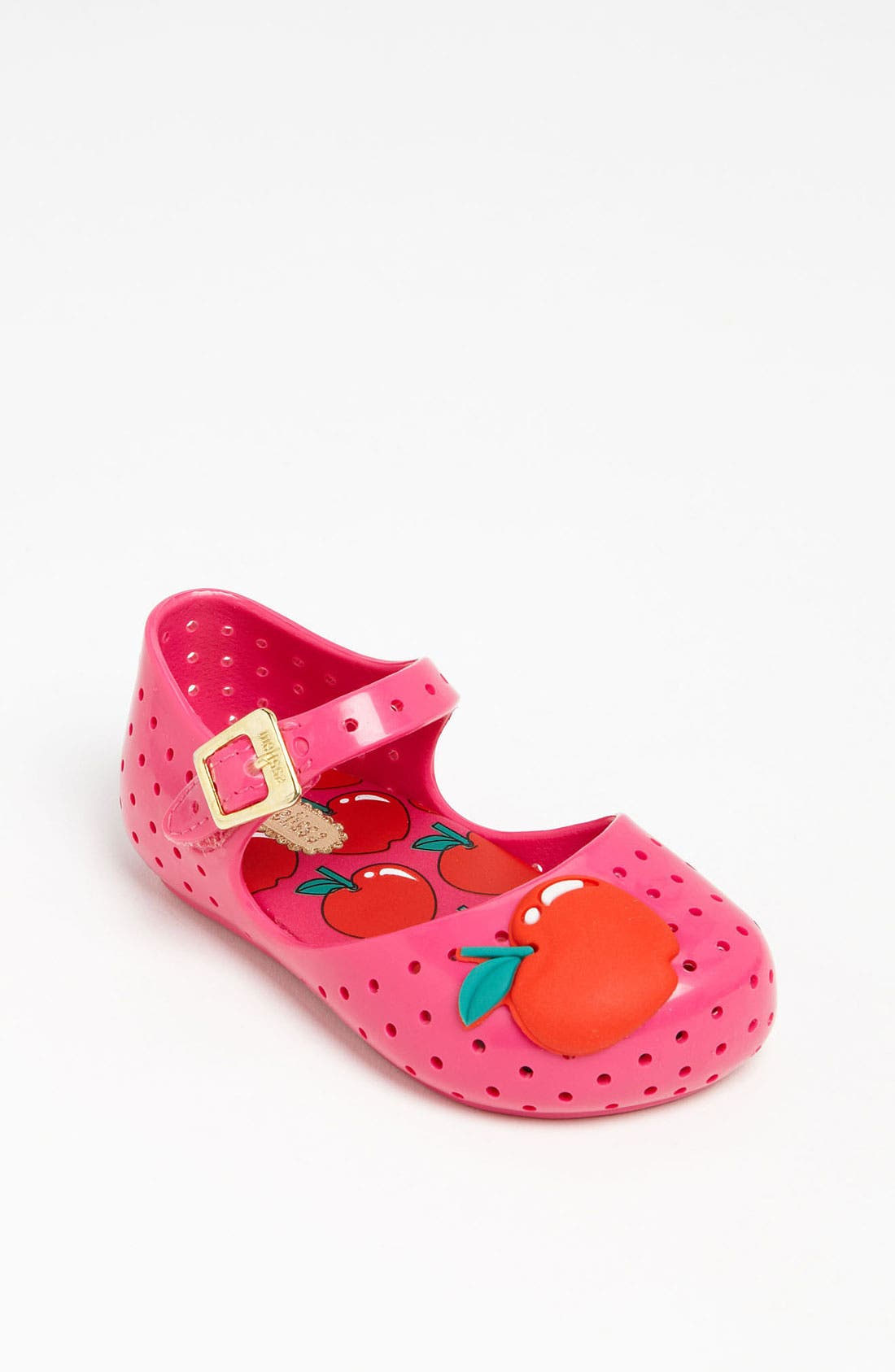 Main Image - Mini Melissa 'Furadinha' Slip-On (Walker & Toddler)