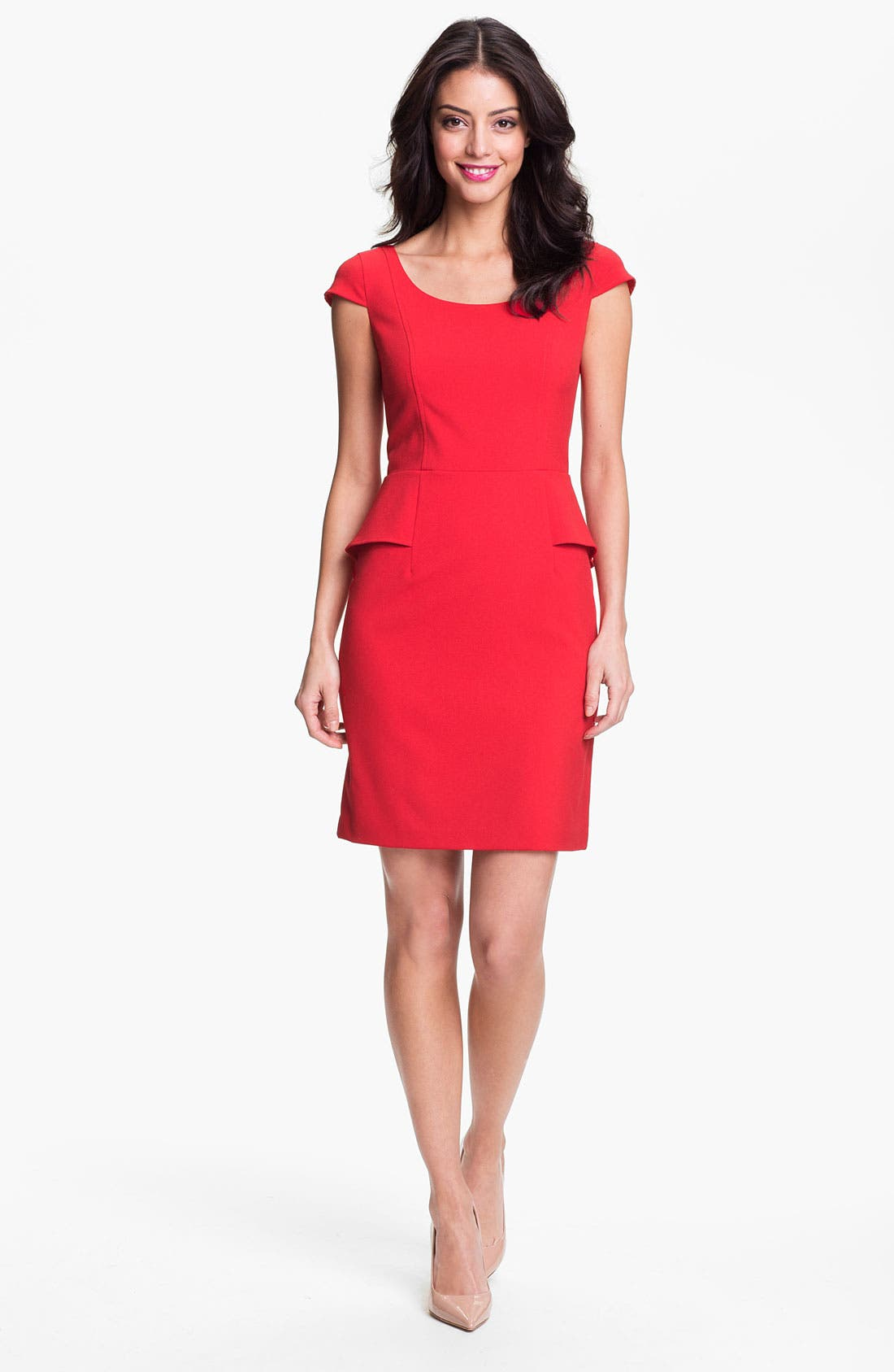Alternate Image 1 Selected - Marc New York by Andrew Marc Peplum Sheath Dress