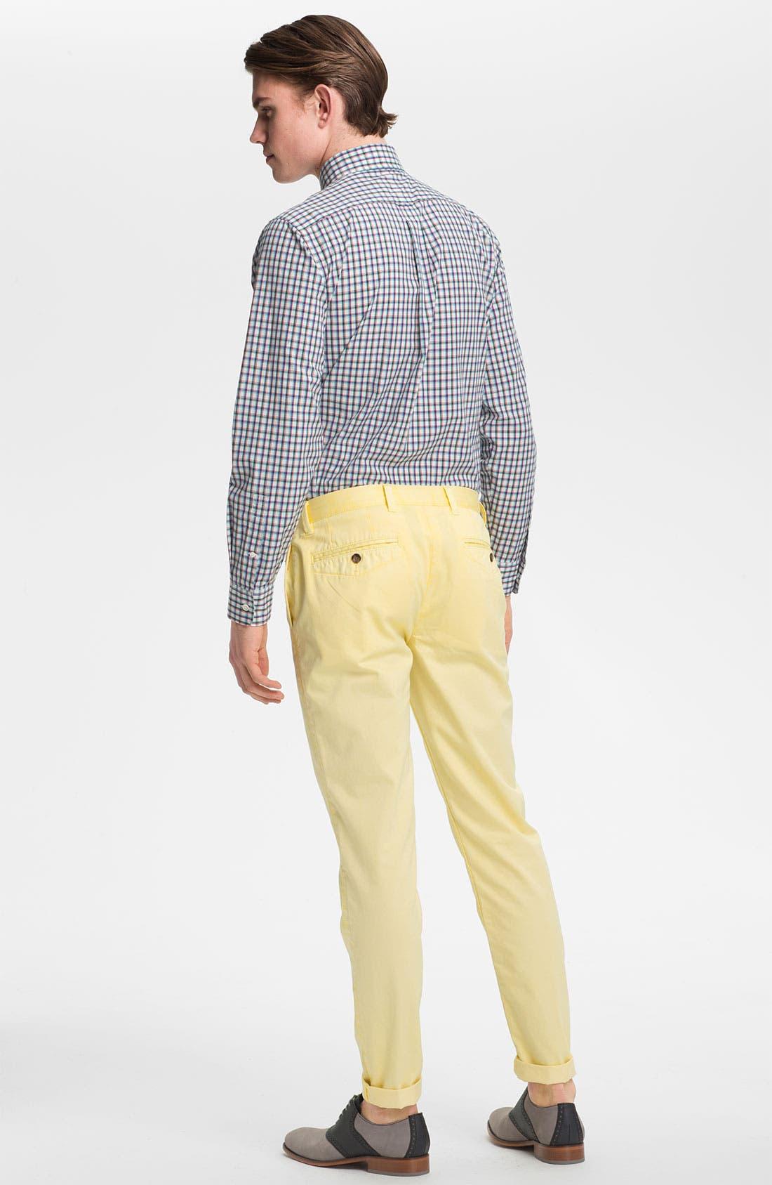 Alternate Image 5  - Jack Spade 'Barbary' Plaid Woven Shirt