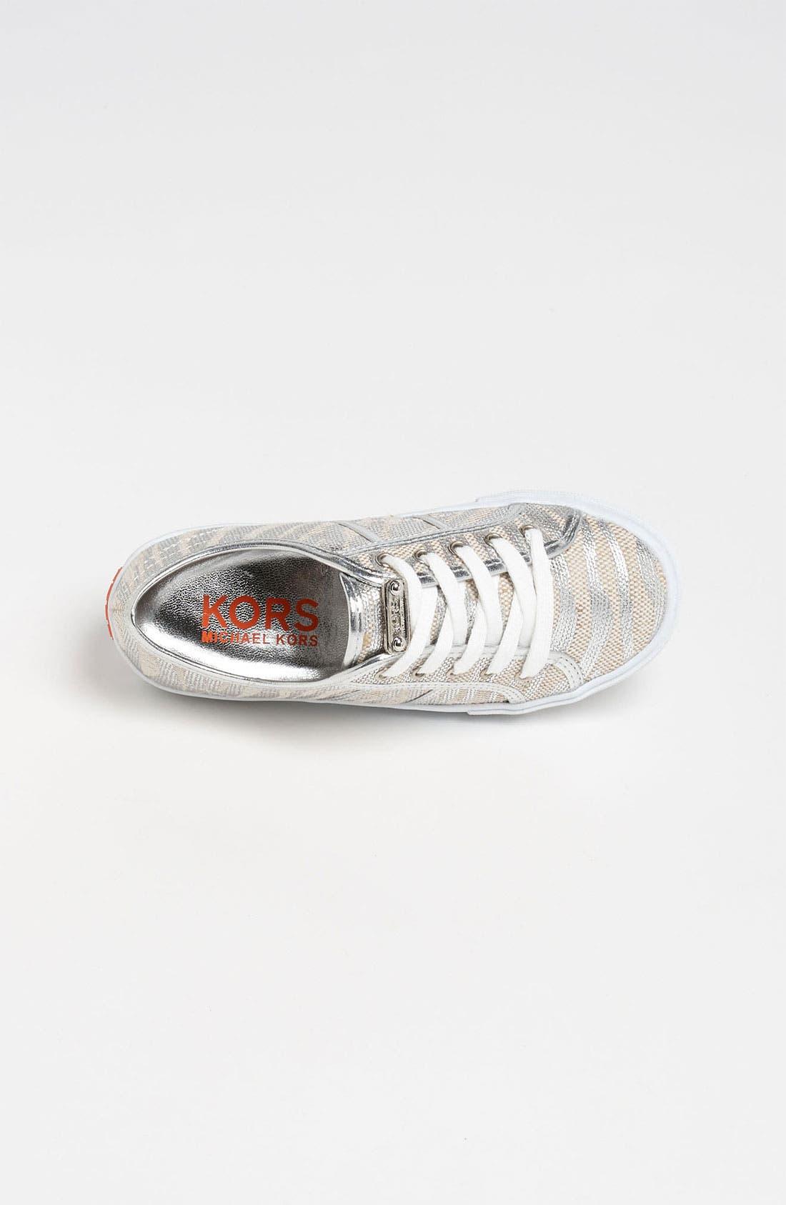 Alternate Image 3  - KORS Michael Kors 'Snapdragon' Sneaker (Toddler, Little Kid & Big Kid)