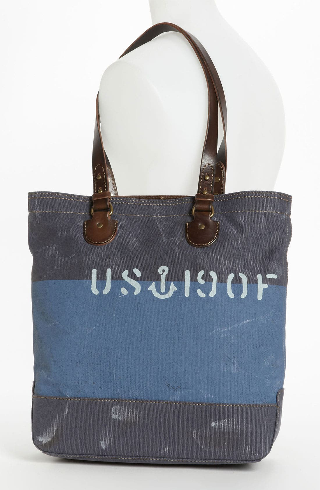 Alternate Image 4  - Fossil 'Vintage Archive' Canvas Tote
