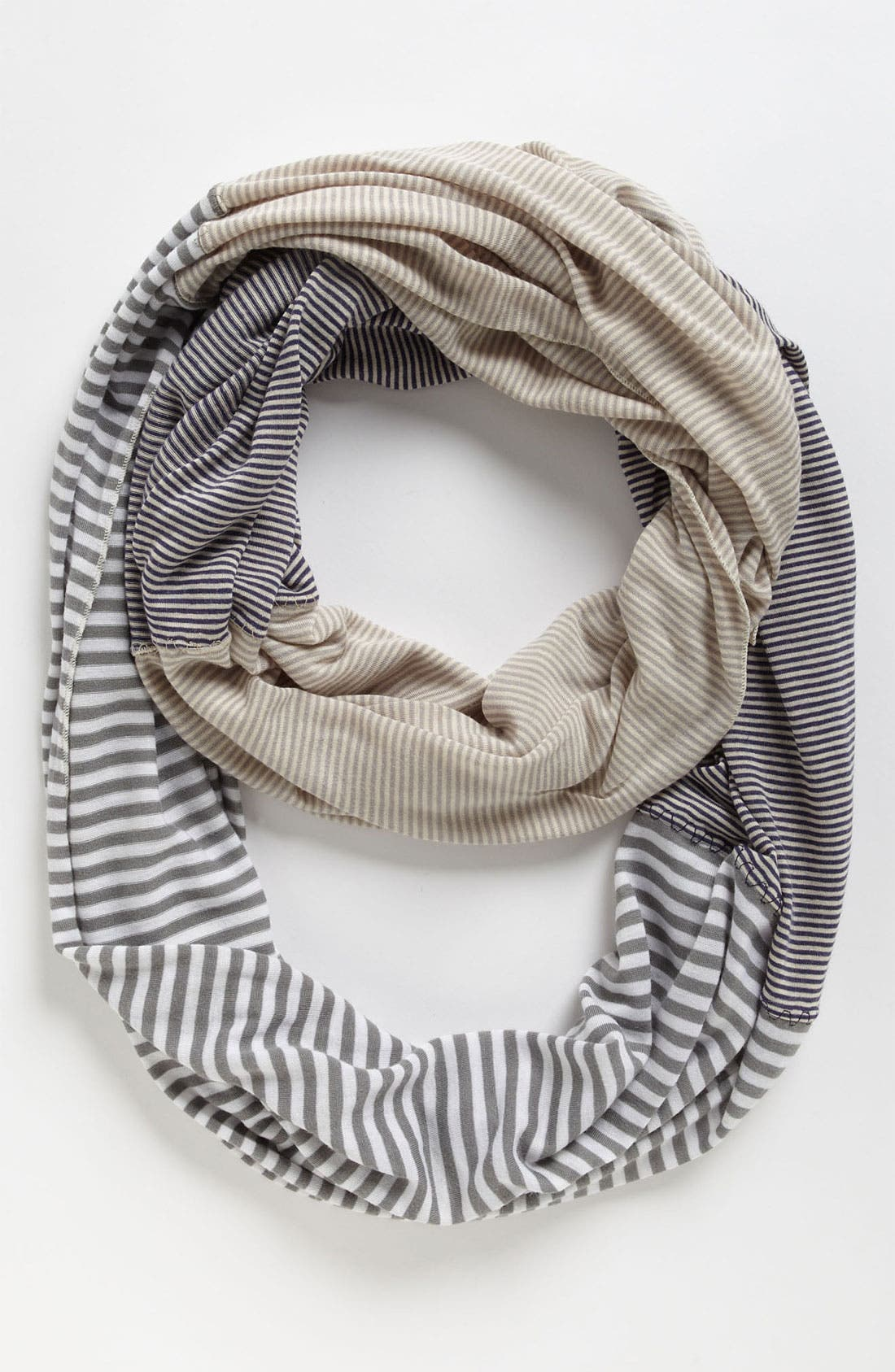 Alternate Image 1 Selected - Michael Stars Stripe Infinity Scarf