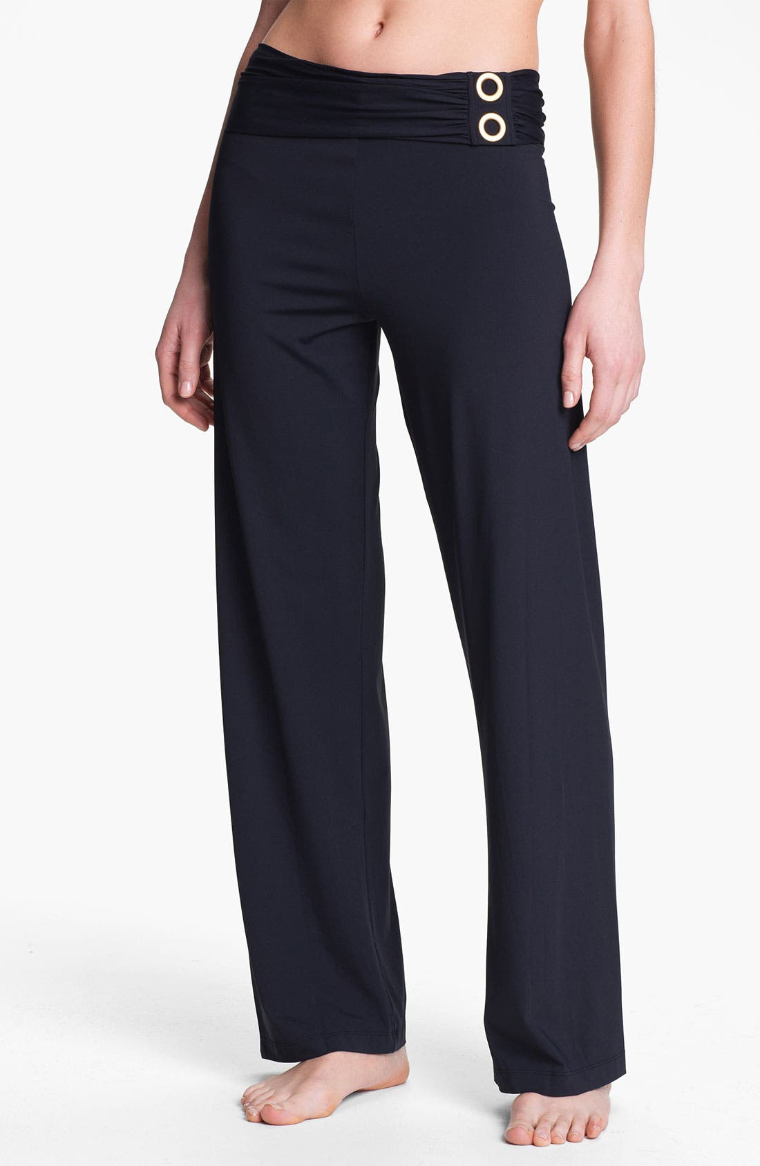 Alternate Image 1 Selected - BLEU Rod Beattie Cover-Up Pants