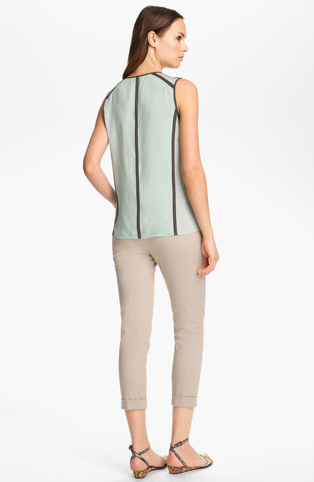 Alternate Image 2  - J Brand Ready-to-Wear 'Isabella' Chiffon Top
