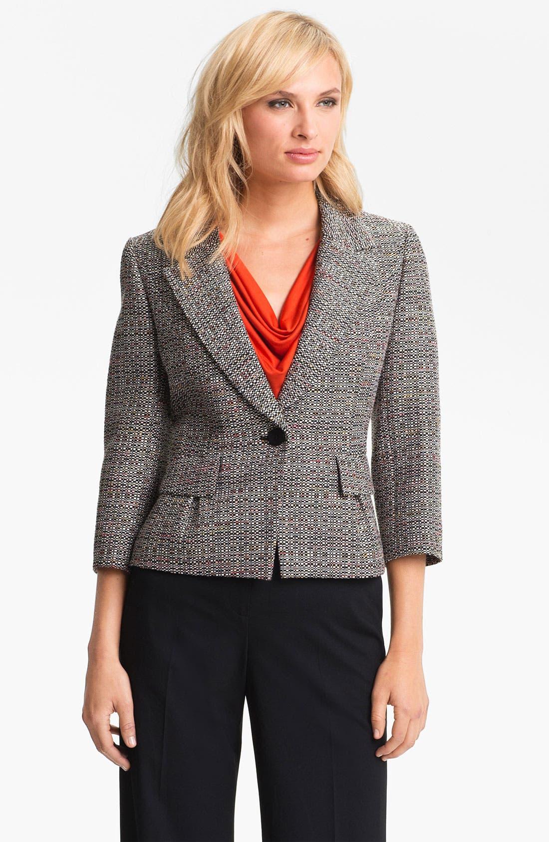 Main Image - Classiques Entier 'Luna' Tweed Jacket