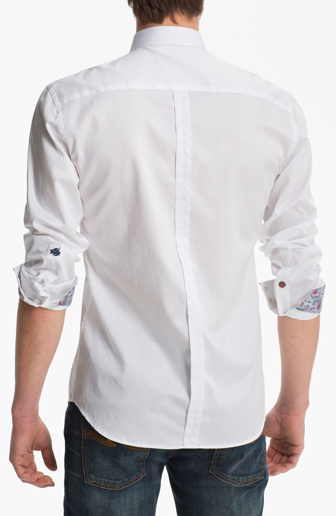 Alternate Image 2  - Stone Rose Woven Shirt