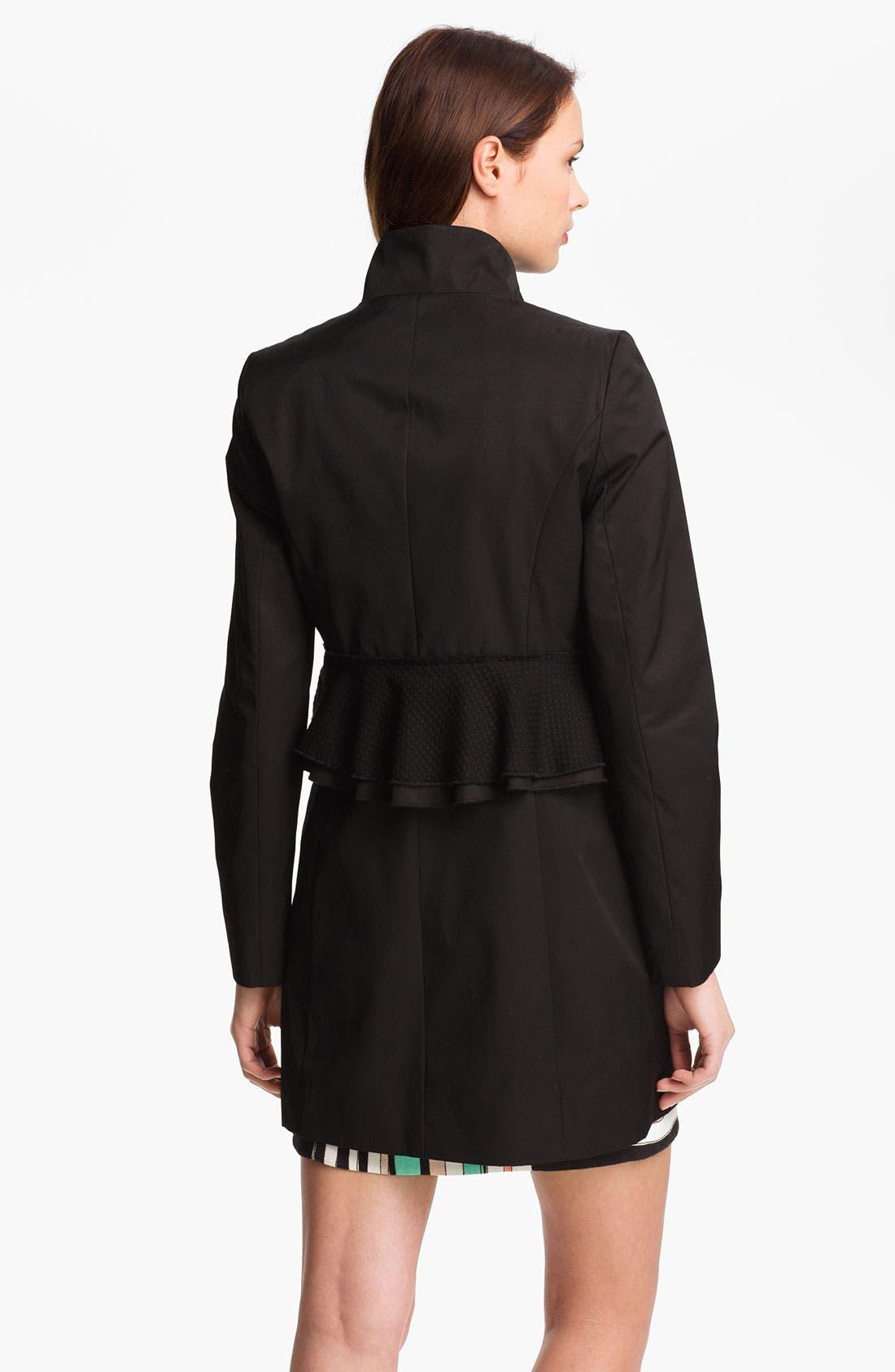 Alternate Image 3  - Tahari 'Jenna' Peplum Walking Coat (Online Only)