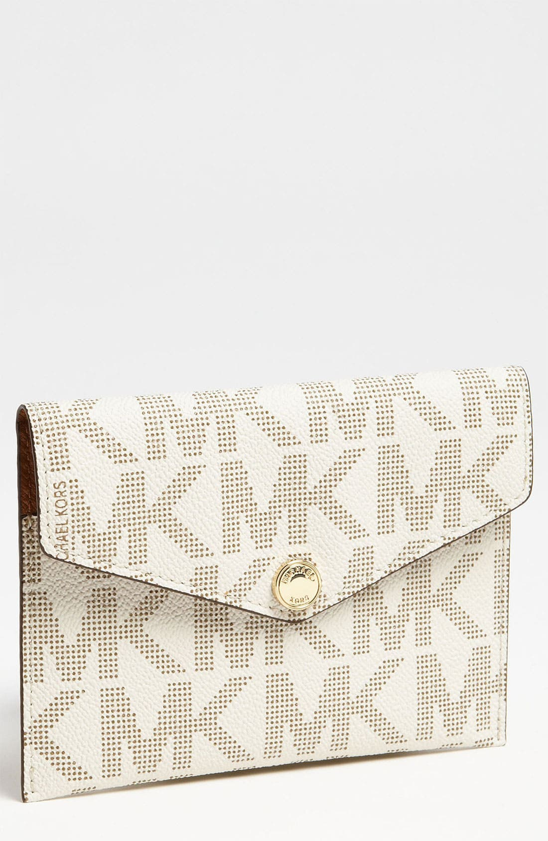 Alternate Image 1 Selected - MICHAEL Michael Kors 'Signature' Passport Case