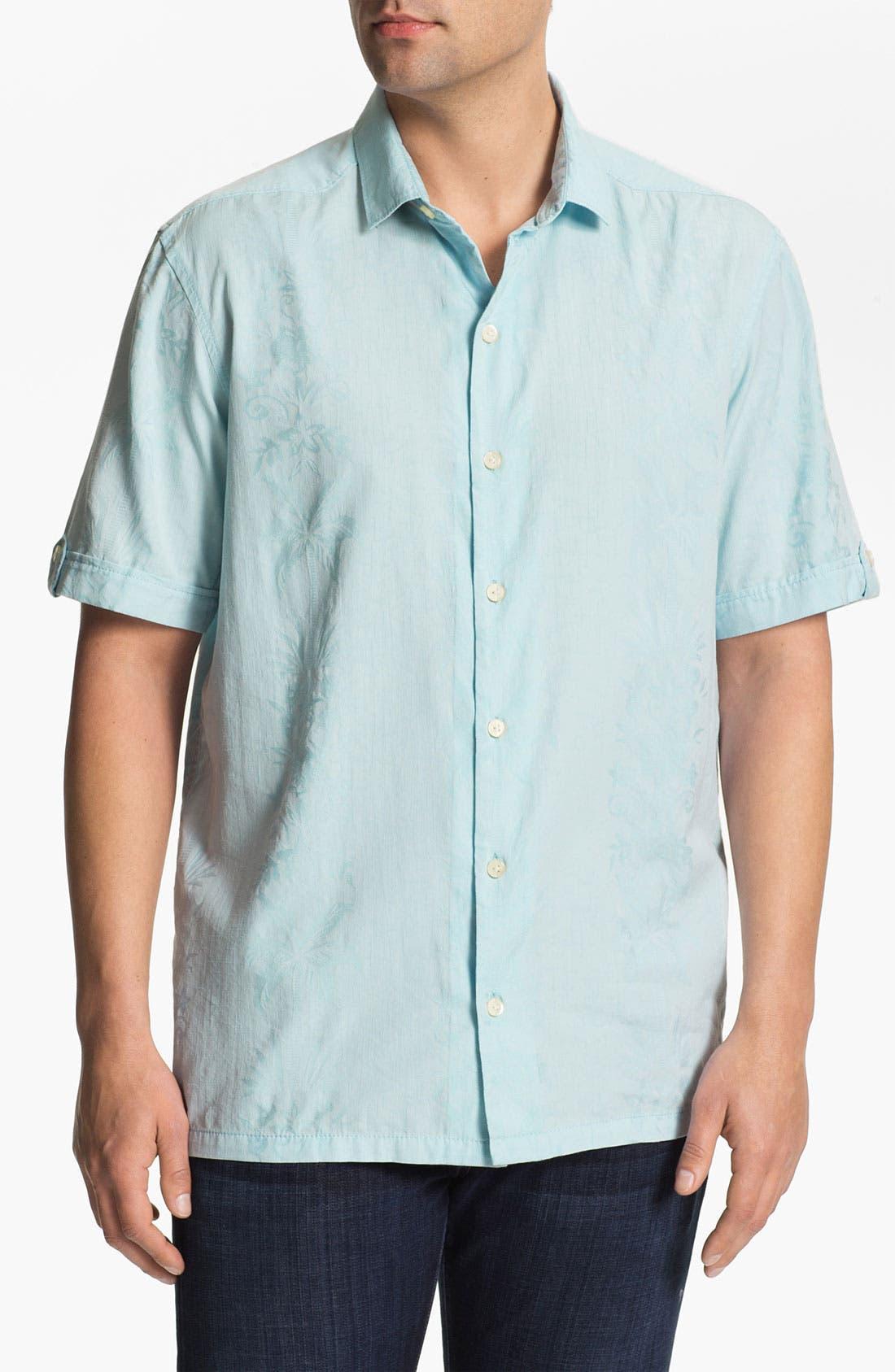 Main Image - Tommy Bahama 'Bali Blogger' Campshirt (Big & Tall)