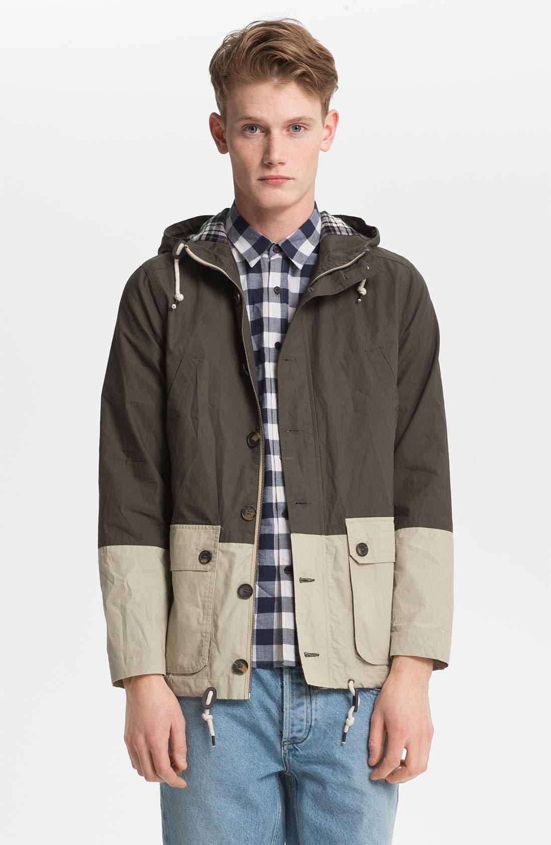 Main Image - Topman Hooded Jacket