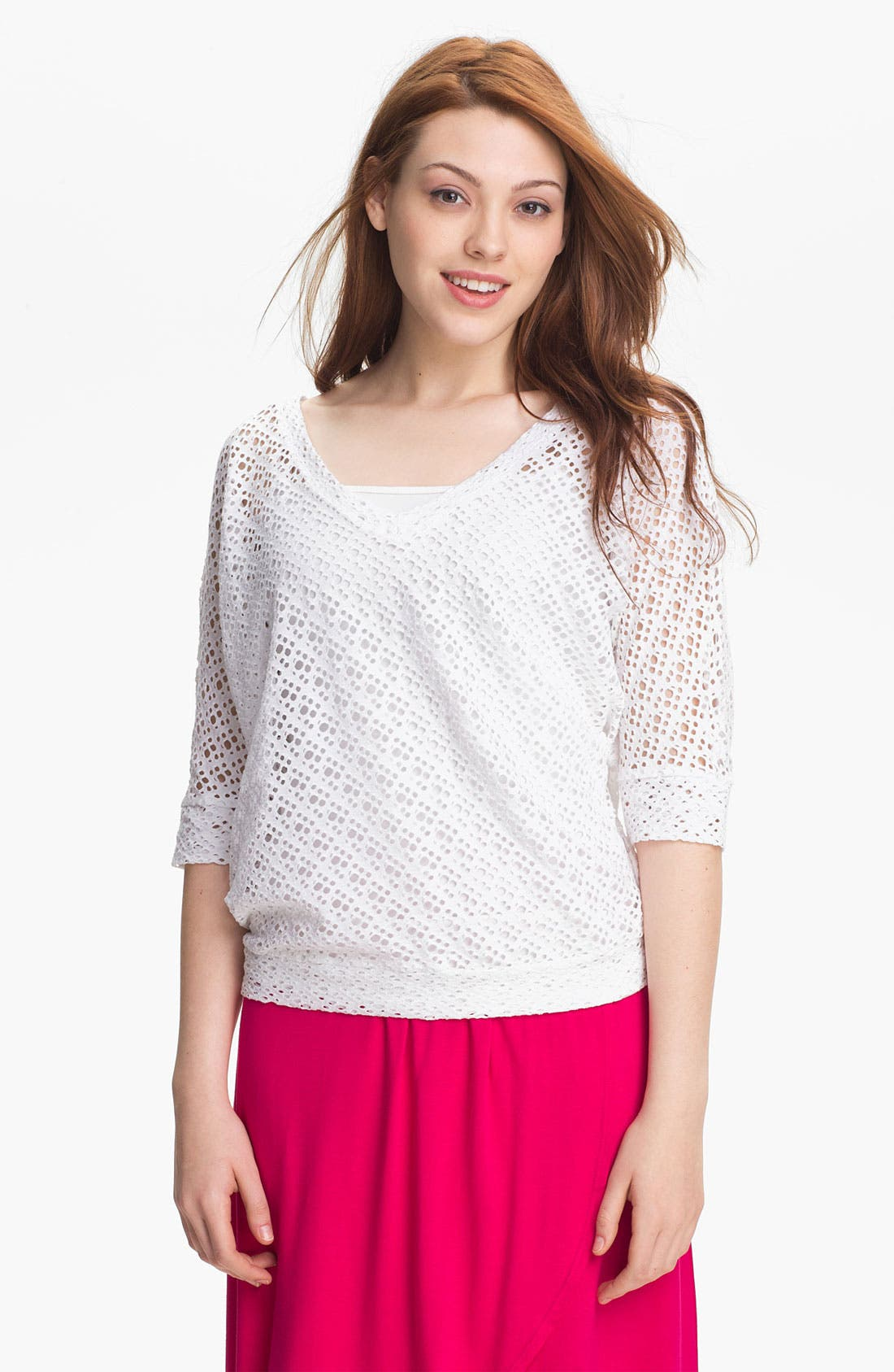 Main Image - KUT from the Kloth 'Adrienne' V-Neck Top