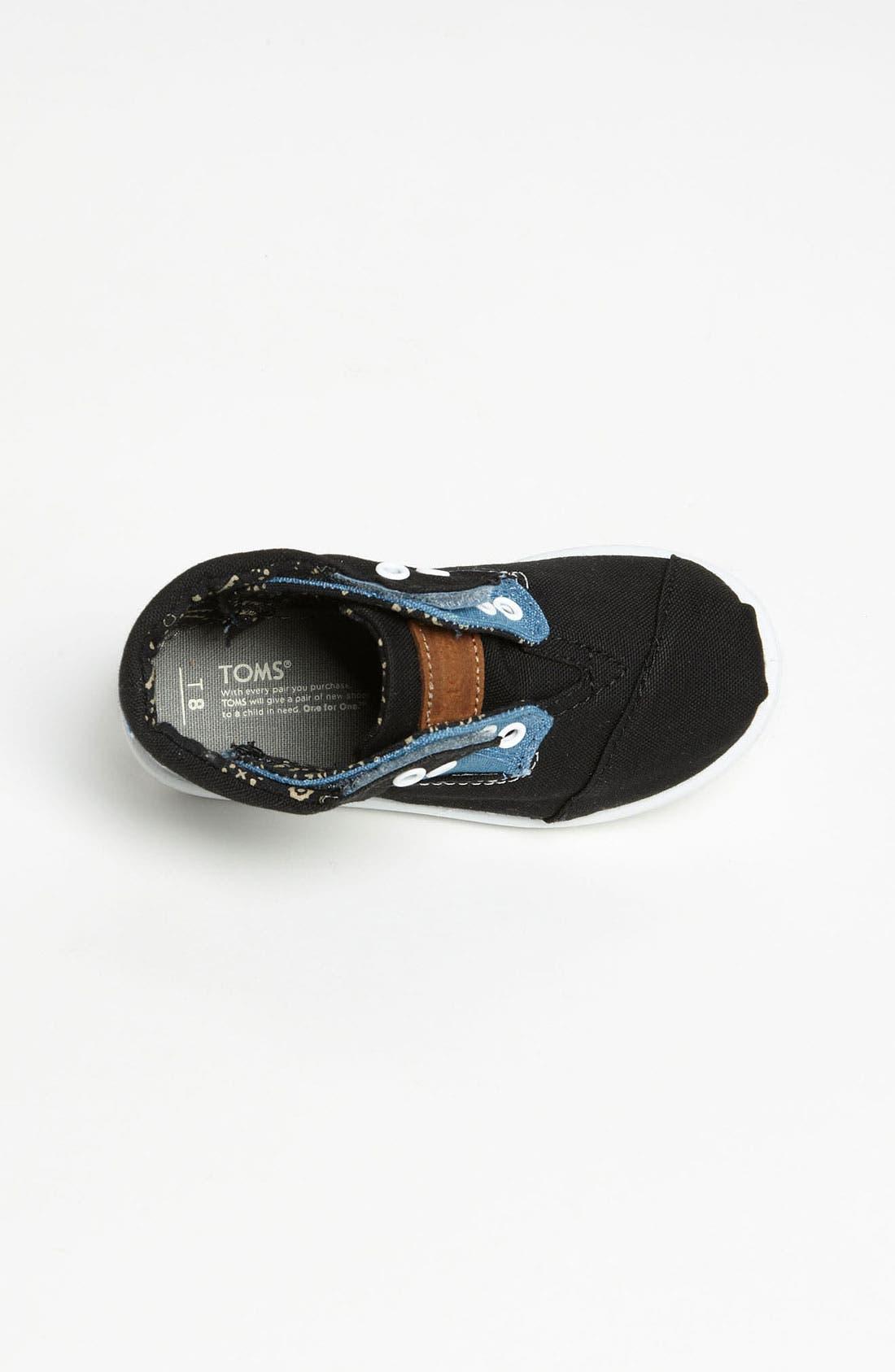 Alternate Image 3  - TOMS 'Botas - Tiny' Canvas Boot (Baby, Walker & Toddler)