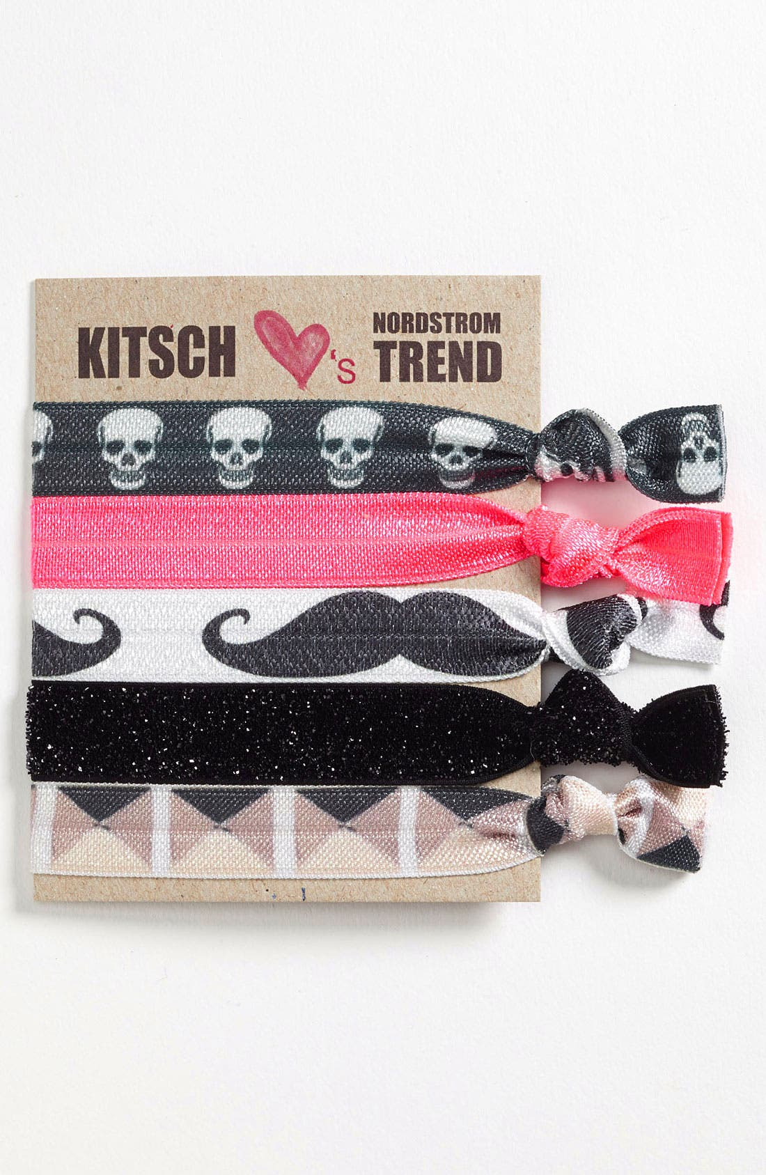 Alternate Image 1 Selected - Kitsch Hair Ties (5-Pack)
