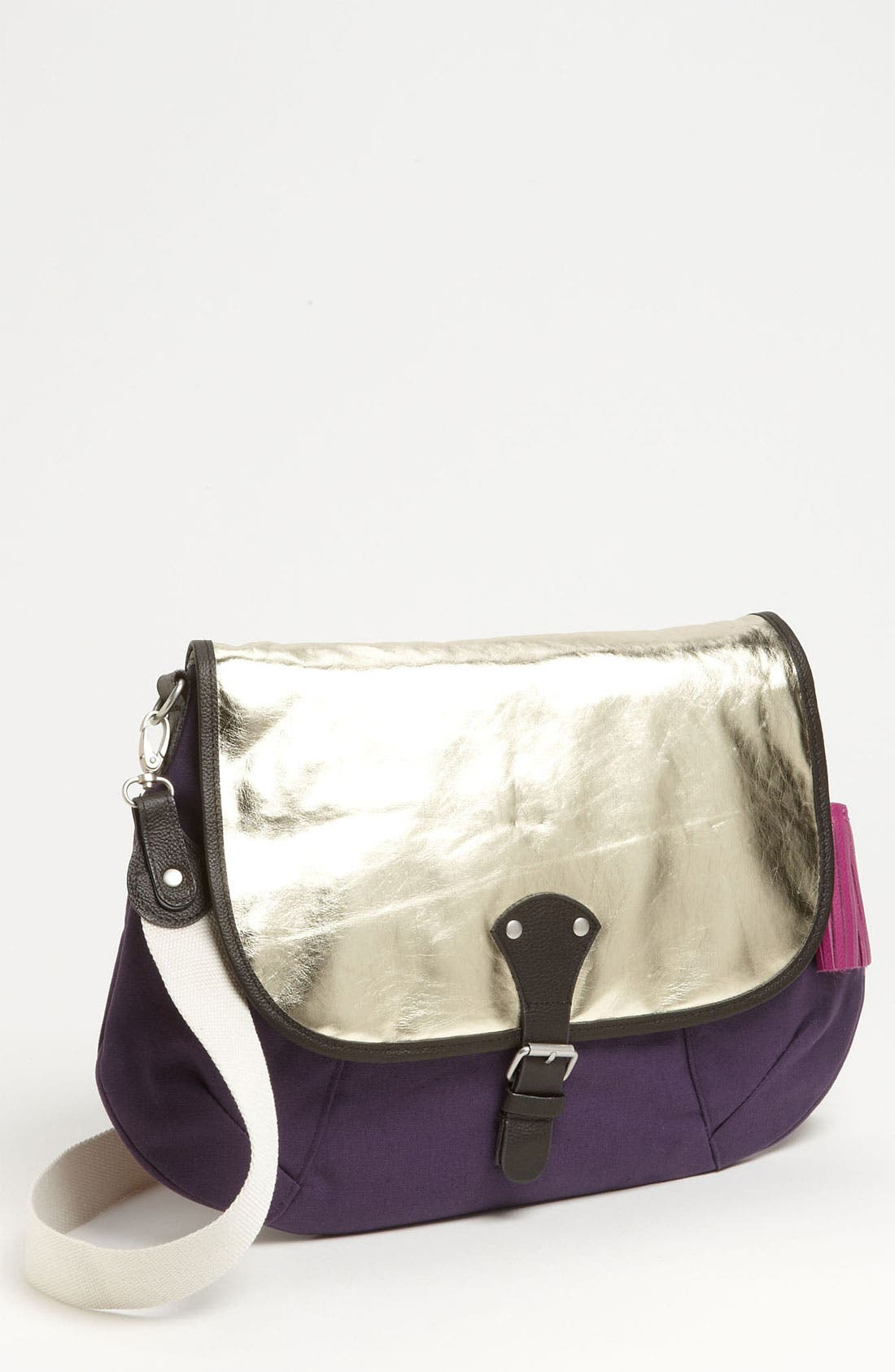 Alternate Image 1 Selected - Bensimon 'Gold Sheen' Crossbody Bag