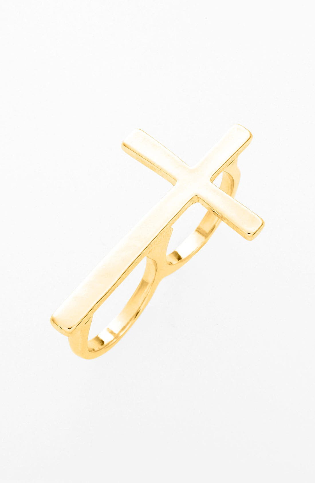 Main Image - BP. Cross Double Finger Ring