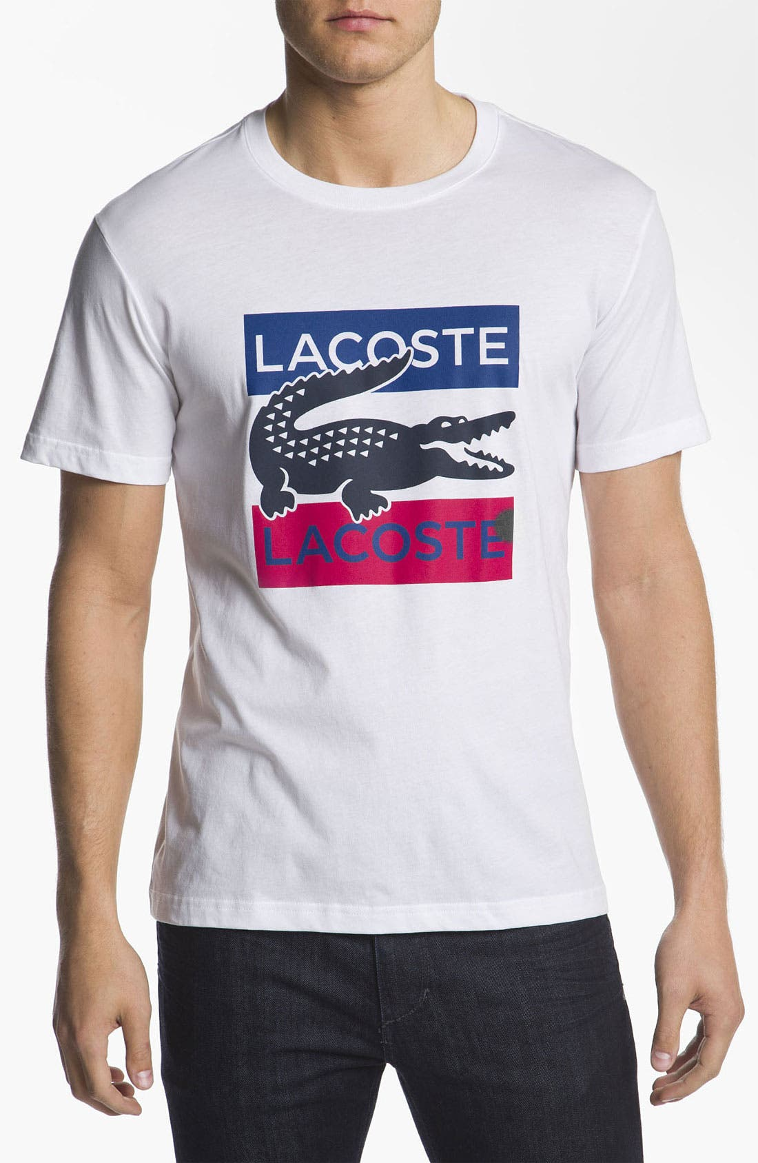 Alternate Image 1 Selected - Lacoste 'Croc' T-Shirt