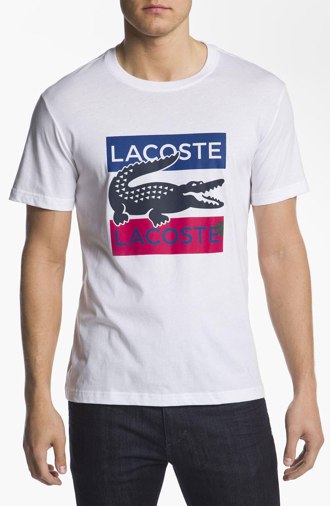 Main Image - Lacoste 'Croc' T-Shirt