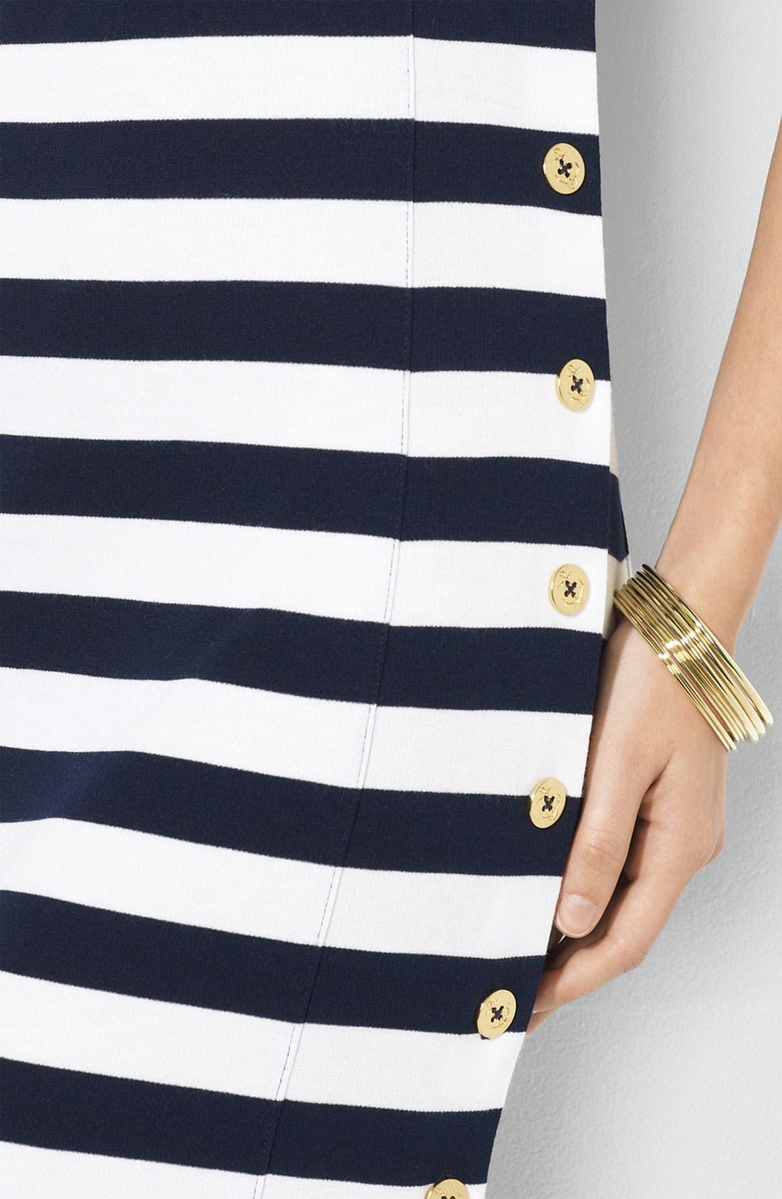 Alternate Image 3  - Lauren Ralph Lauren Square Neck Side Button Dress