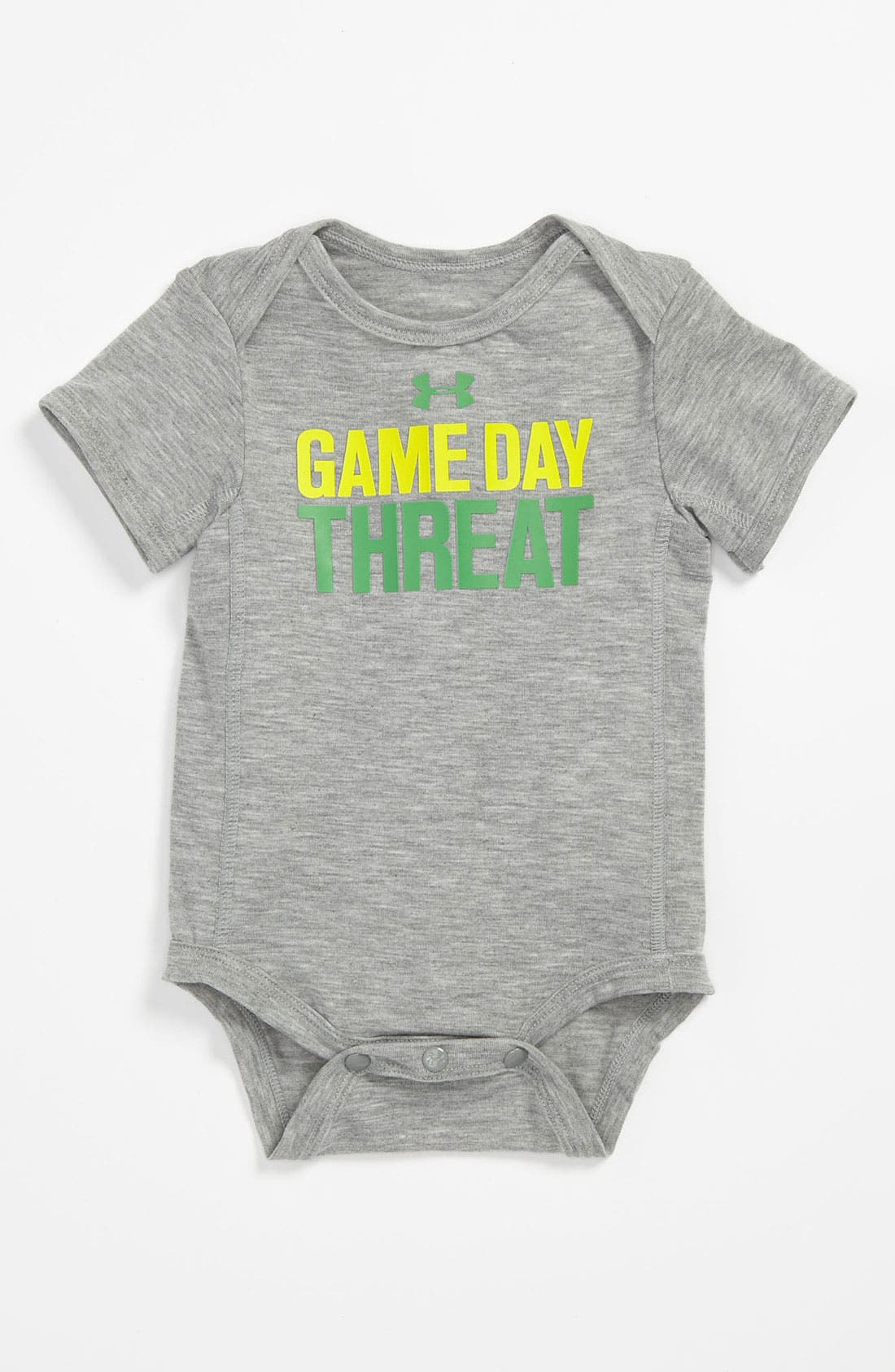 Alternate Image 1 Selected - Under Armour 'Game' Bodysuit (Baby)