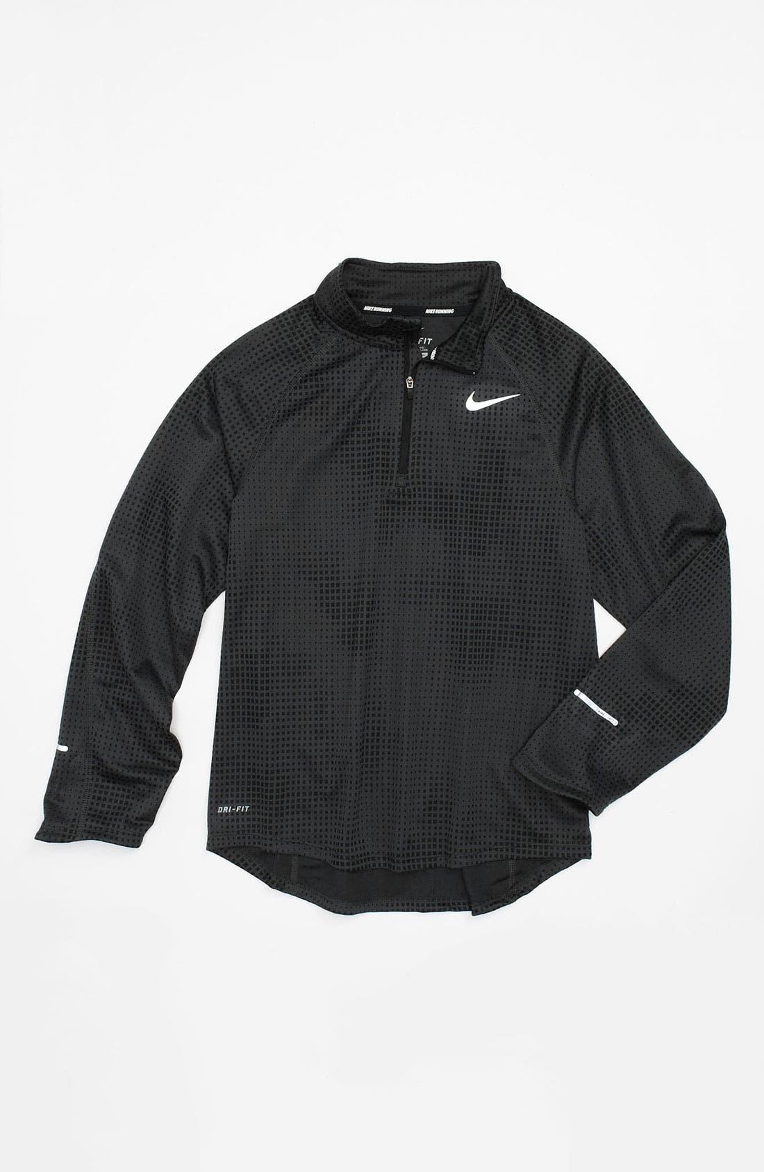 Alternate Image 1 Selected - Nike 'Element' Half Zip Pullover (Big Boys)