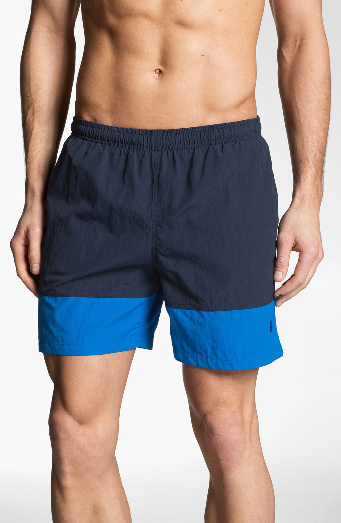 Alternate Image 1 Selected - Fred Perry Swim Trunks