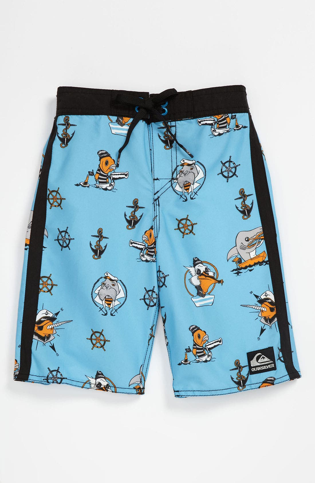 Main Image - Quiksilver 'Briny Deep' Board Shorts (Little Boys)