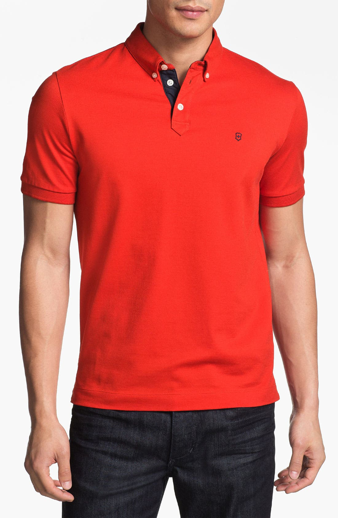 Main Image - Victorinox Swiss Army® 'Winners' Tailored Fit Polo (Online Only)