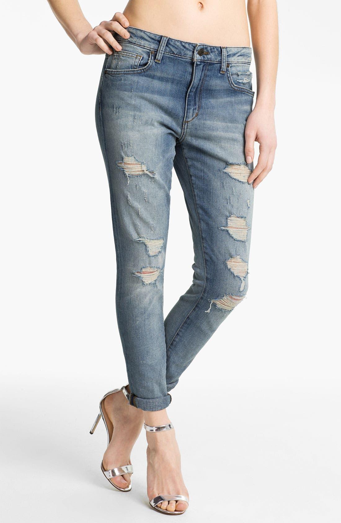 Alternate Image 1 Selected - Joe's 'High Water' Slouchy Skinny Crop Jeans (Nyore)
