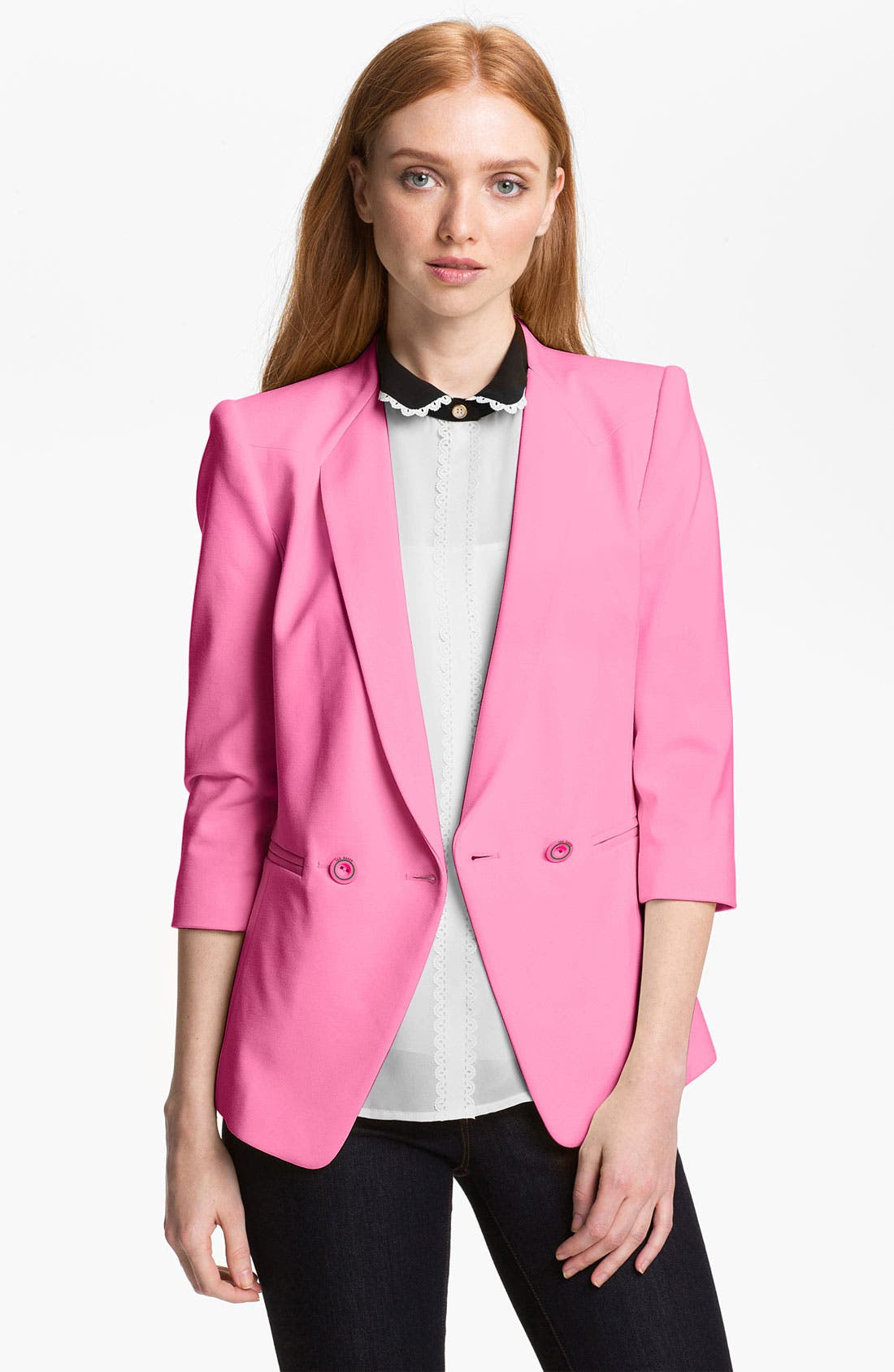 Alternate Image 1 Selected - Ted Baker London Double Breasted Blazer
