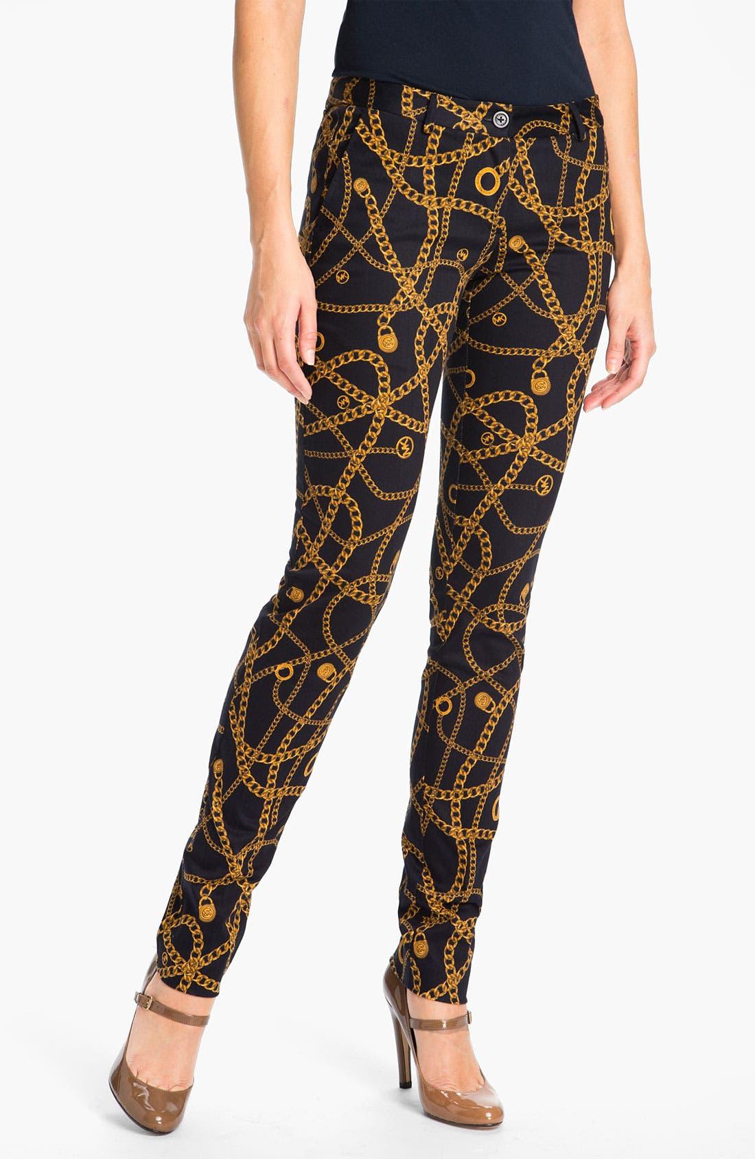 Alternate Image 1 Selected - MICHAEL Michael Kors Skinny Pants (Petite)