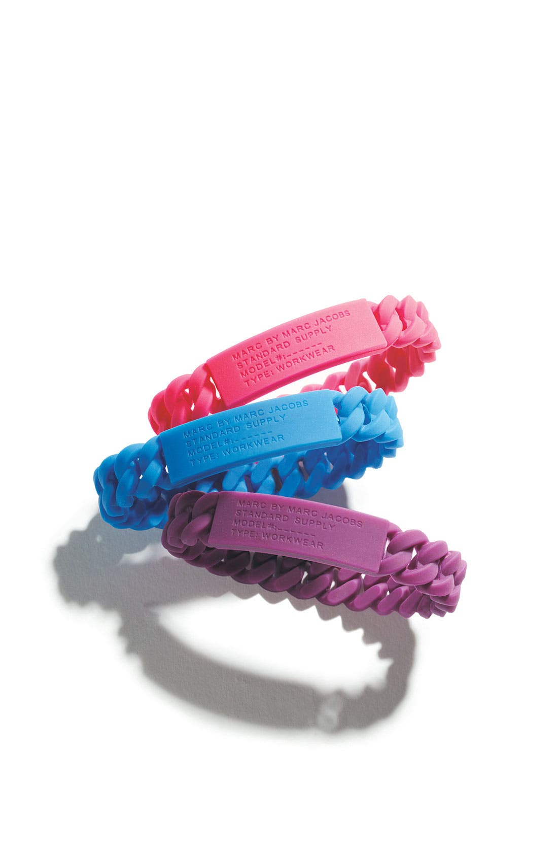 Alternate Image 2  - MARC BY MARC JACOBS 'Rubber Standard Supply' Stretch ID Bracelet