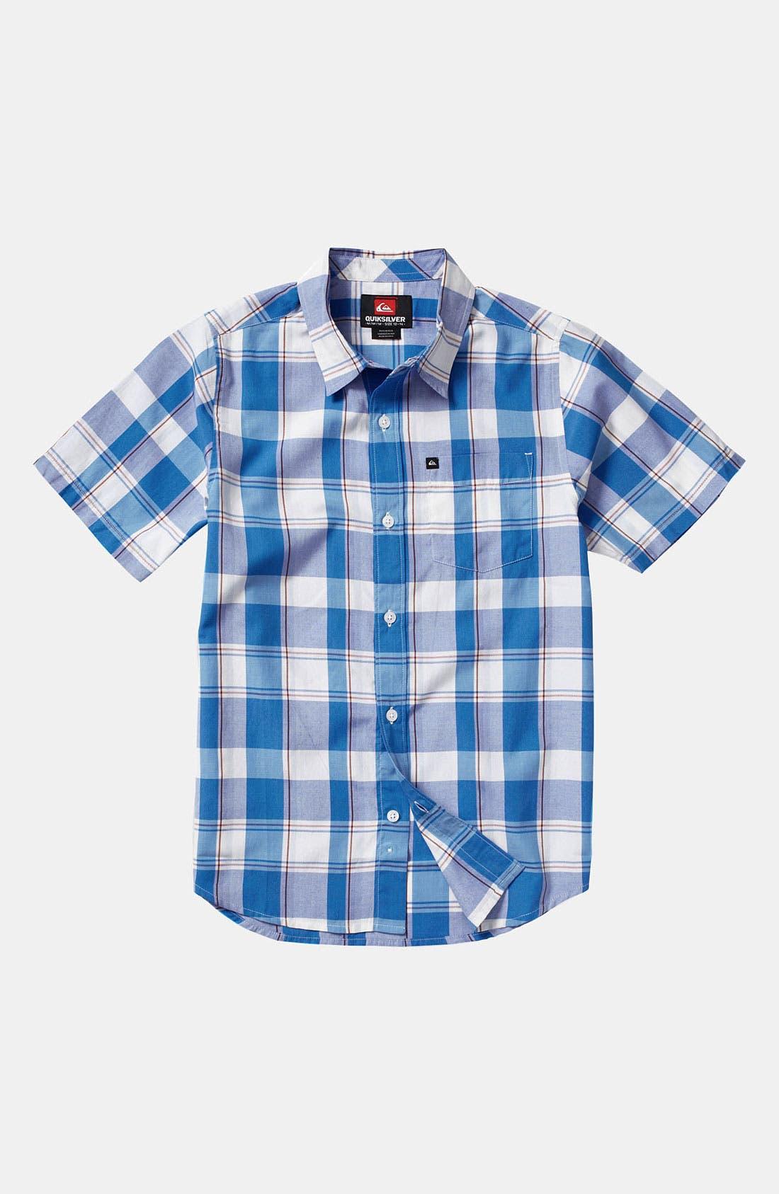 Alternate Image 1 Selected - Quiksilver 'El Pat' Woven Shirt (Toddler)