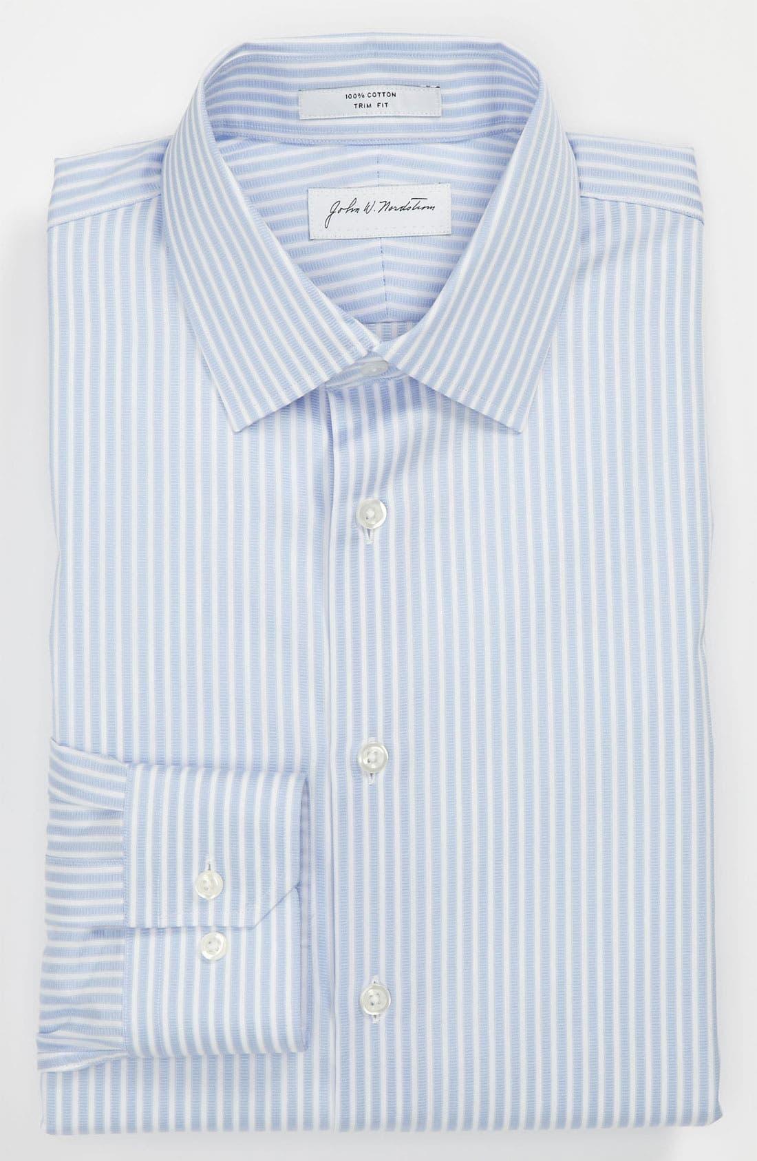 Main Image - John W. Nordstrom Trim Fit Dress Shirt