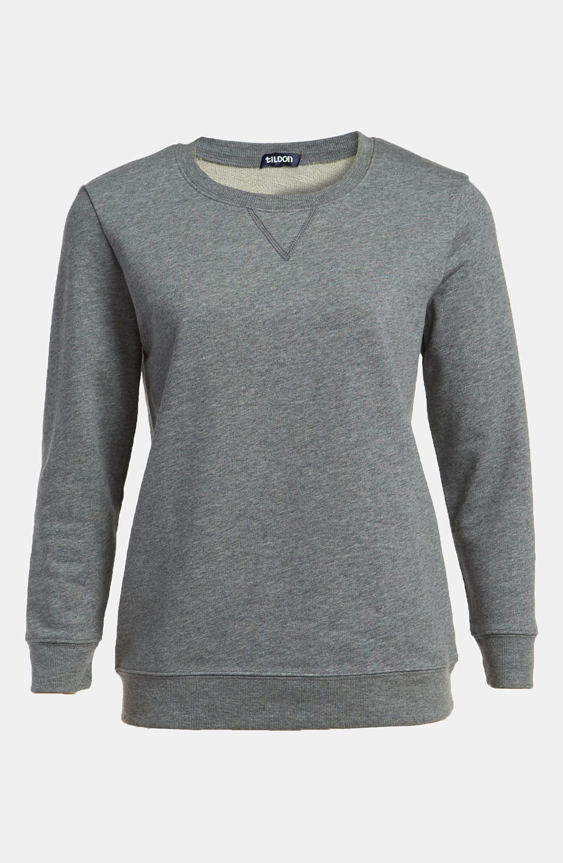 Alternate Image 1 Selected - Tildon Elbow Patch Sweatshirt