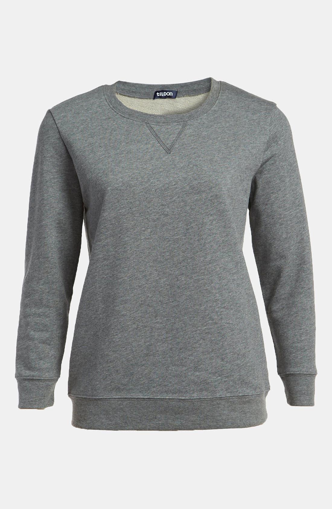 Main Image - Tildon Elbow Patch Sweatshirt