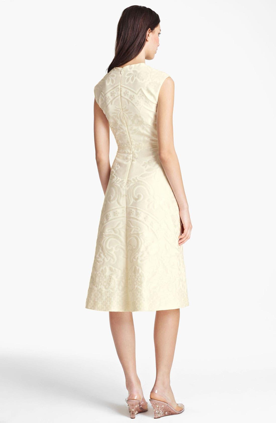 Alternate Image 2  - Valentino Matelassé Dress