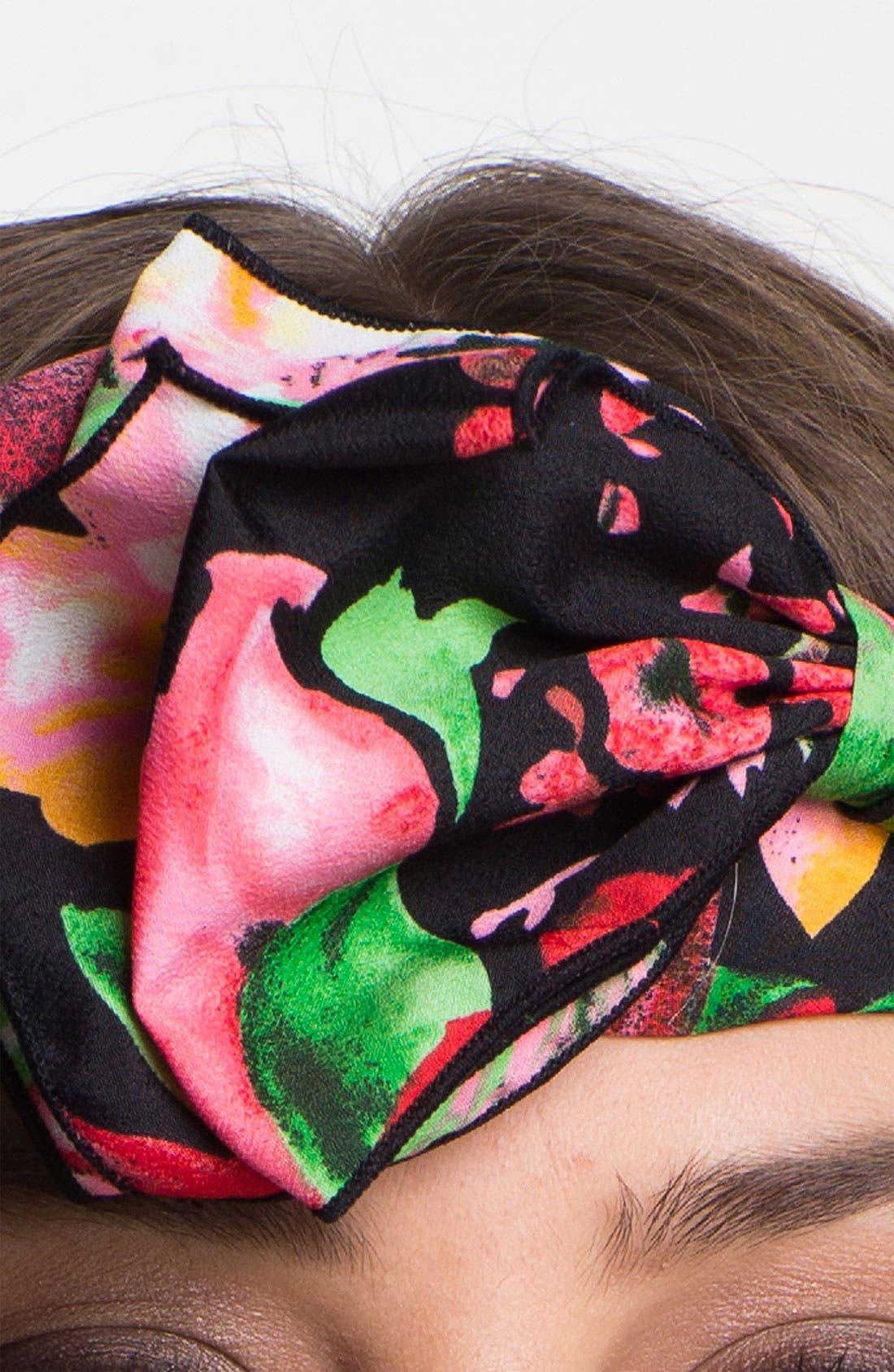 Alternate Image 2  - Cara 'Big Time' Bow Head Wrap