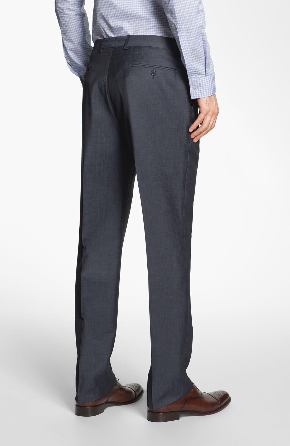 Alternate Image 5  - Michael Kors Trim Fit Twill Suit