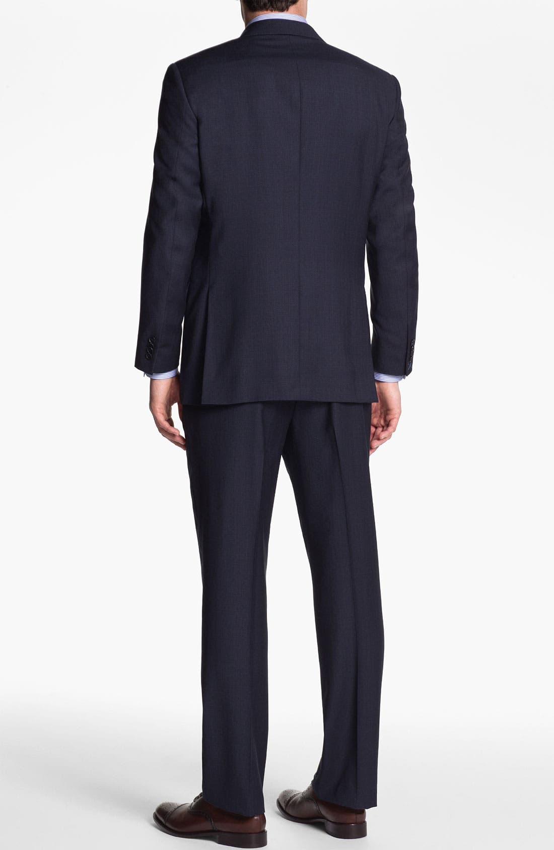 Alternate Image 3  - Peter Millar Wool Suit