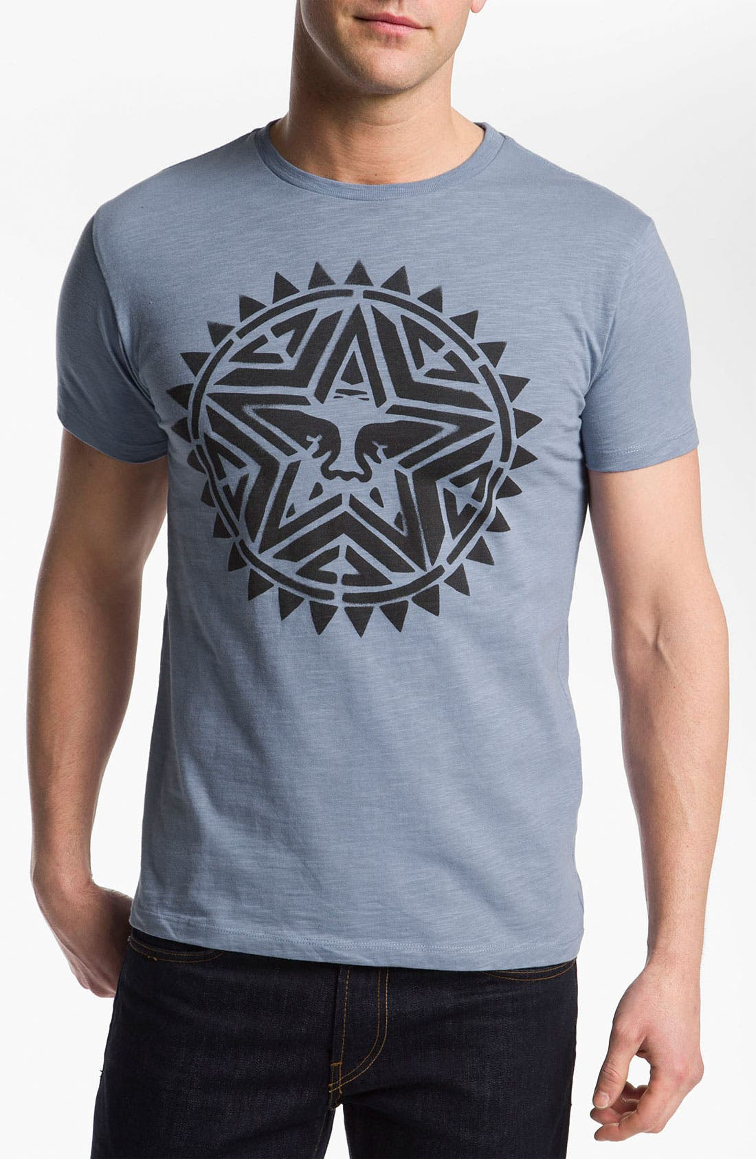 Main Image - Obey 'Aztec Stencil' T-Shirt