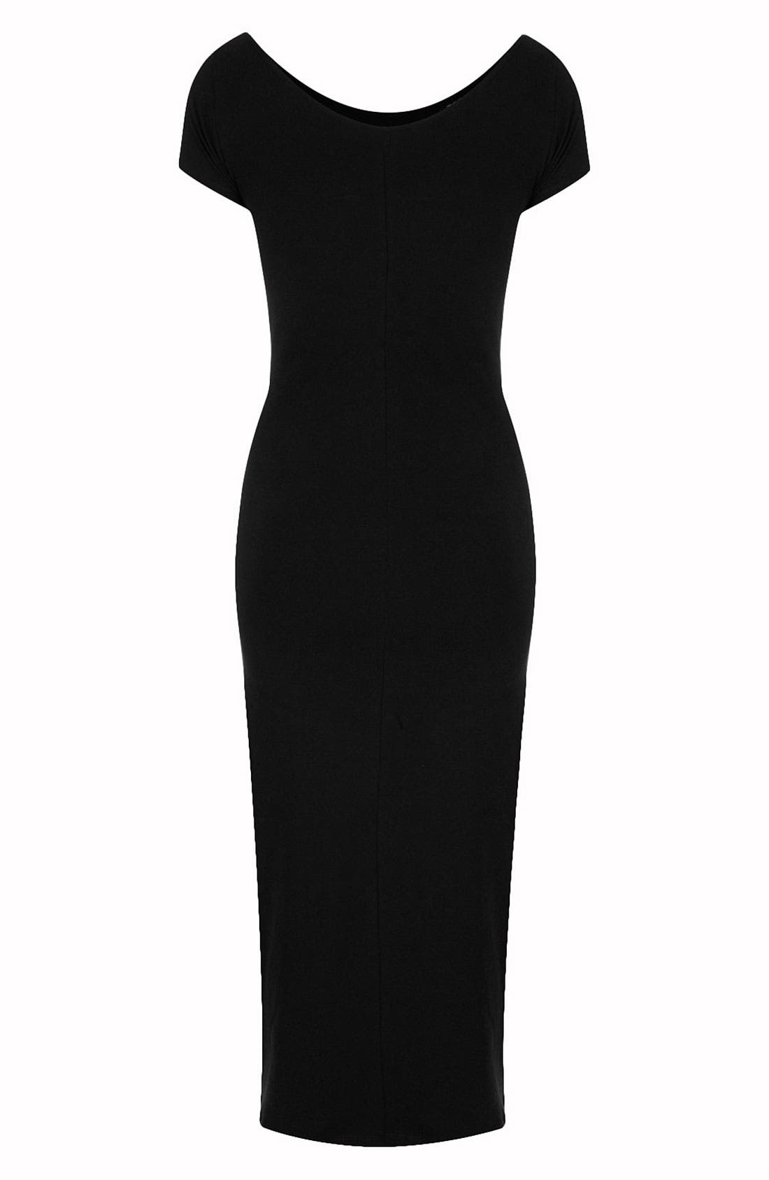 Alternate Image 2  - Topshop Cutout Body-Con Dress